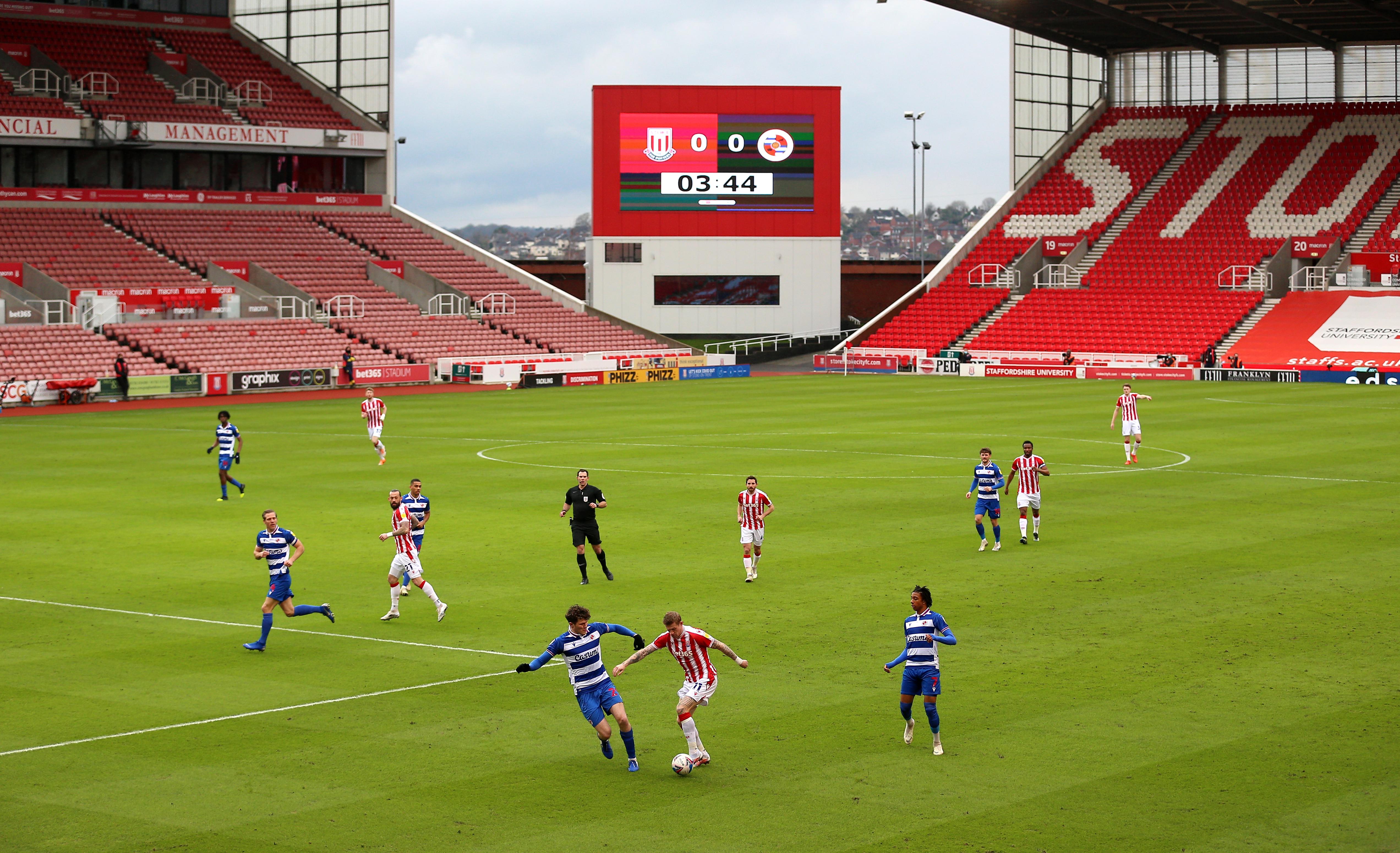 Stoke City v Reading - Sky Bet Championship - bet365 Stadium