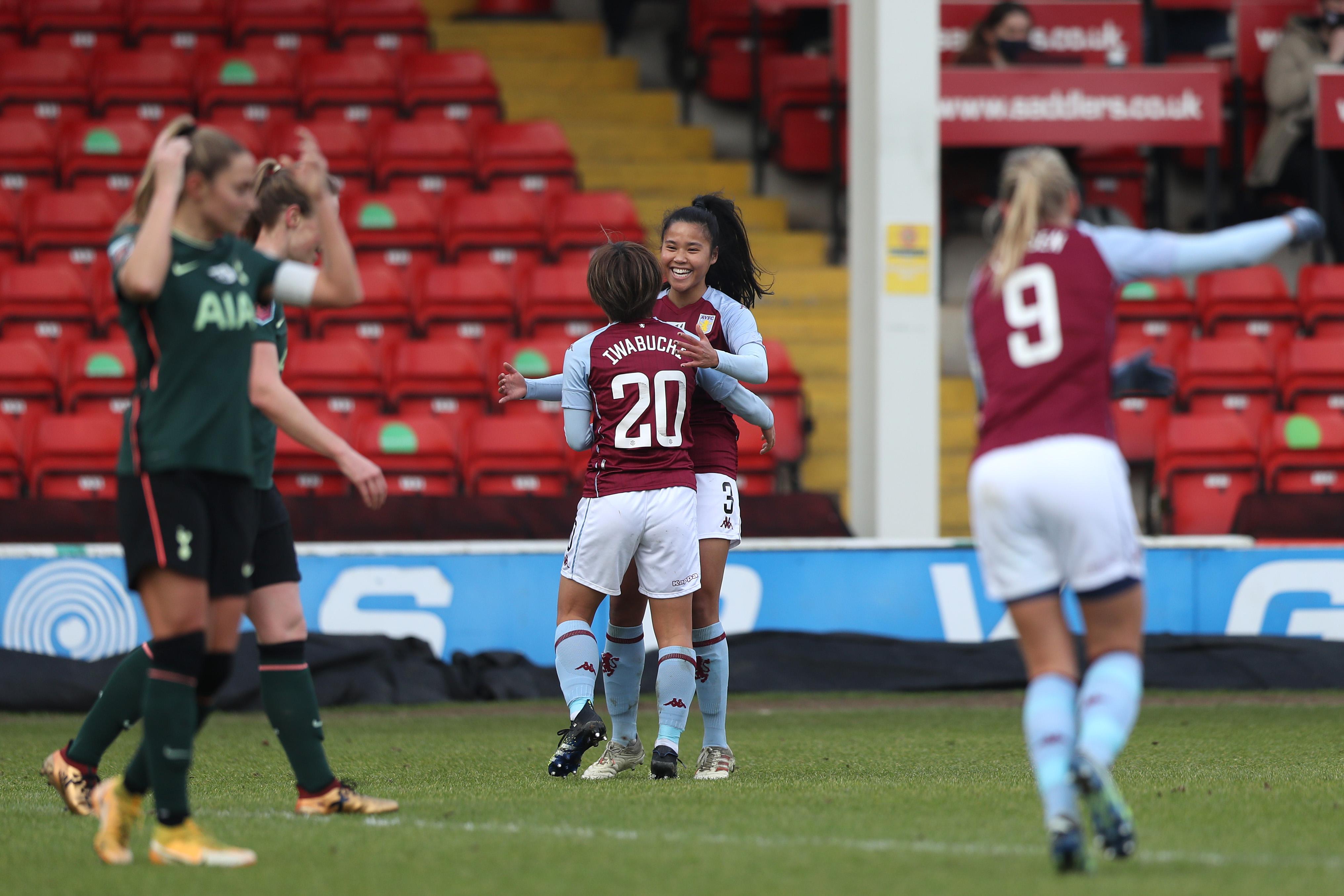 Aston Villa Women v Tottenham Hotspur Women - Barclays FA Women's Super League