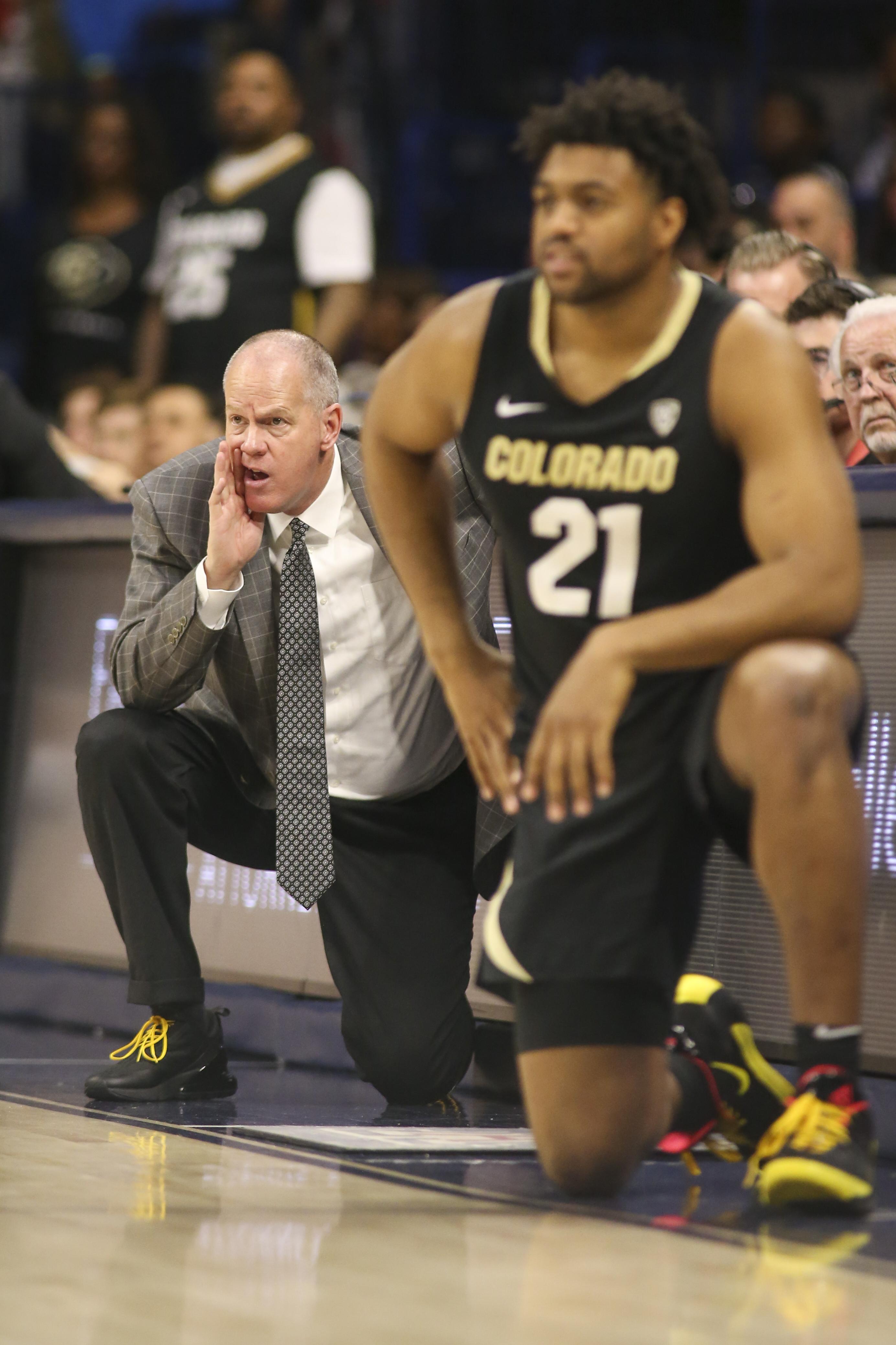 NCAA Basketball: Colorado at Arizona