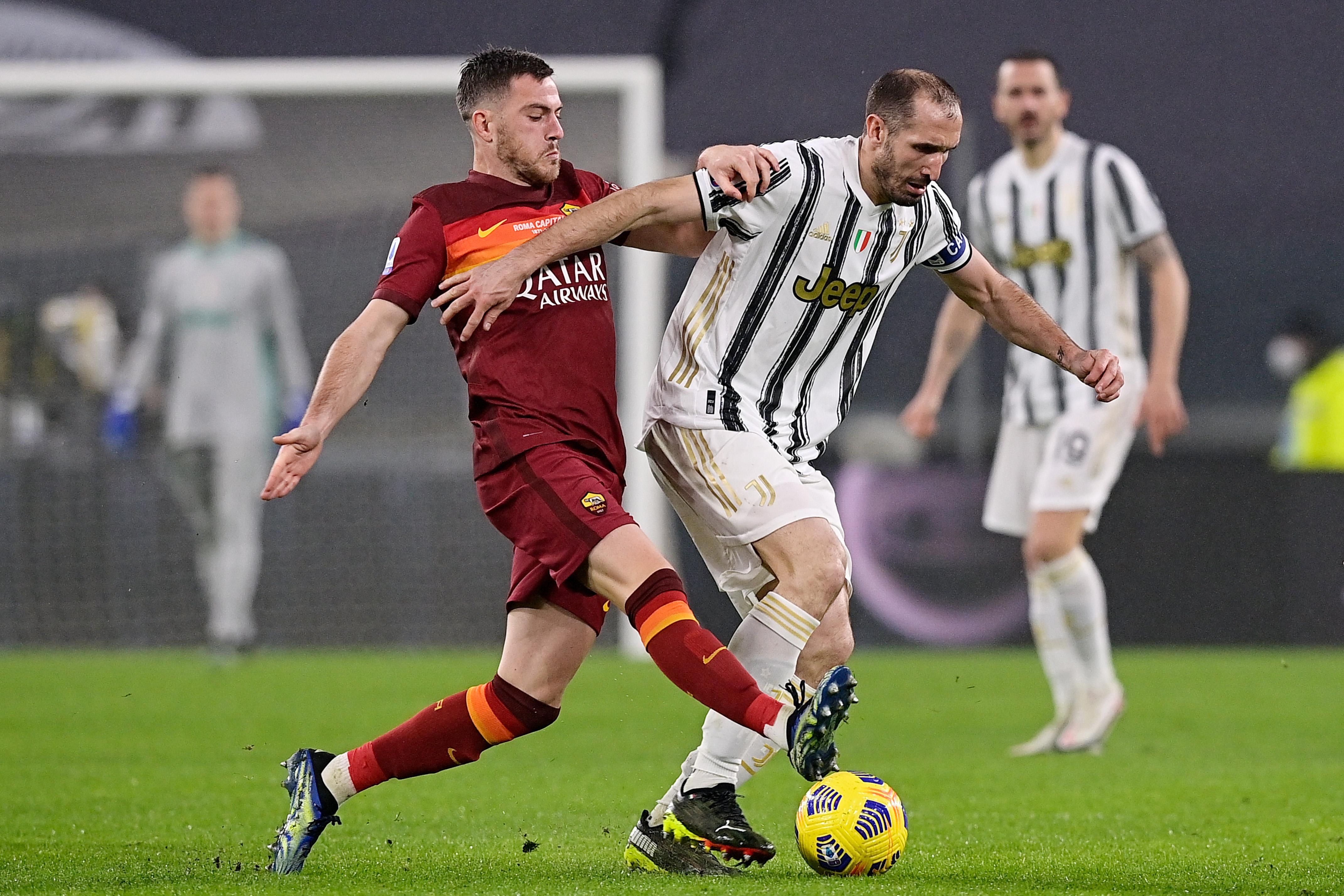 Juventus v AS Roma - Italian Serie A