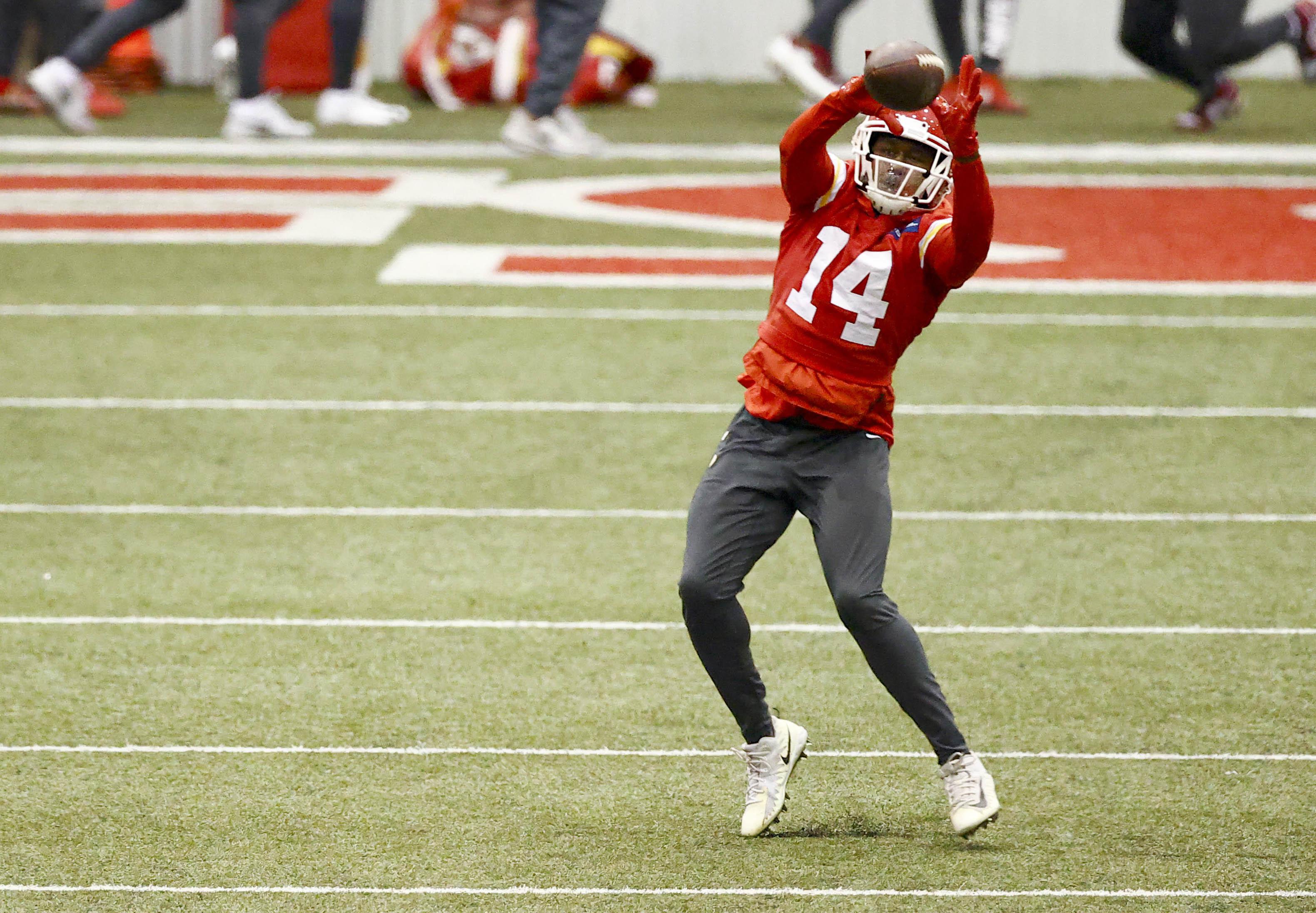 NFL: Super Bowl LV-Kansas City Chiefs Practice