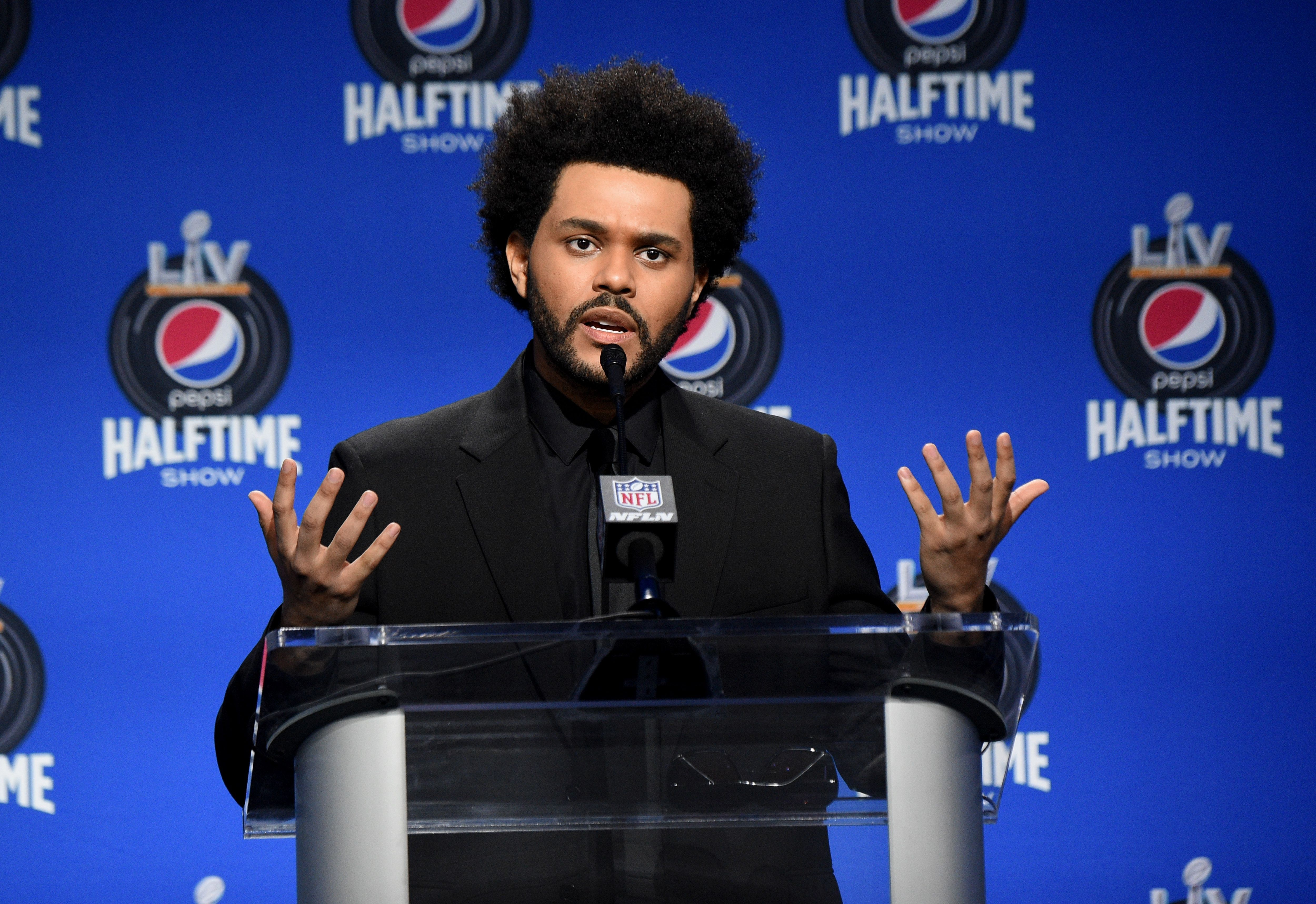 Super Bowl LV - The Weeknd