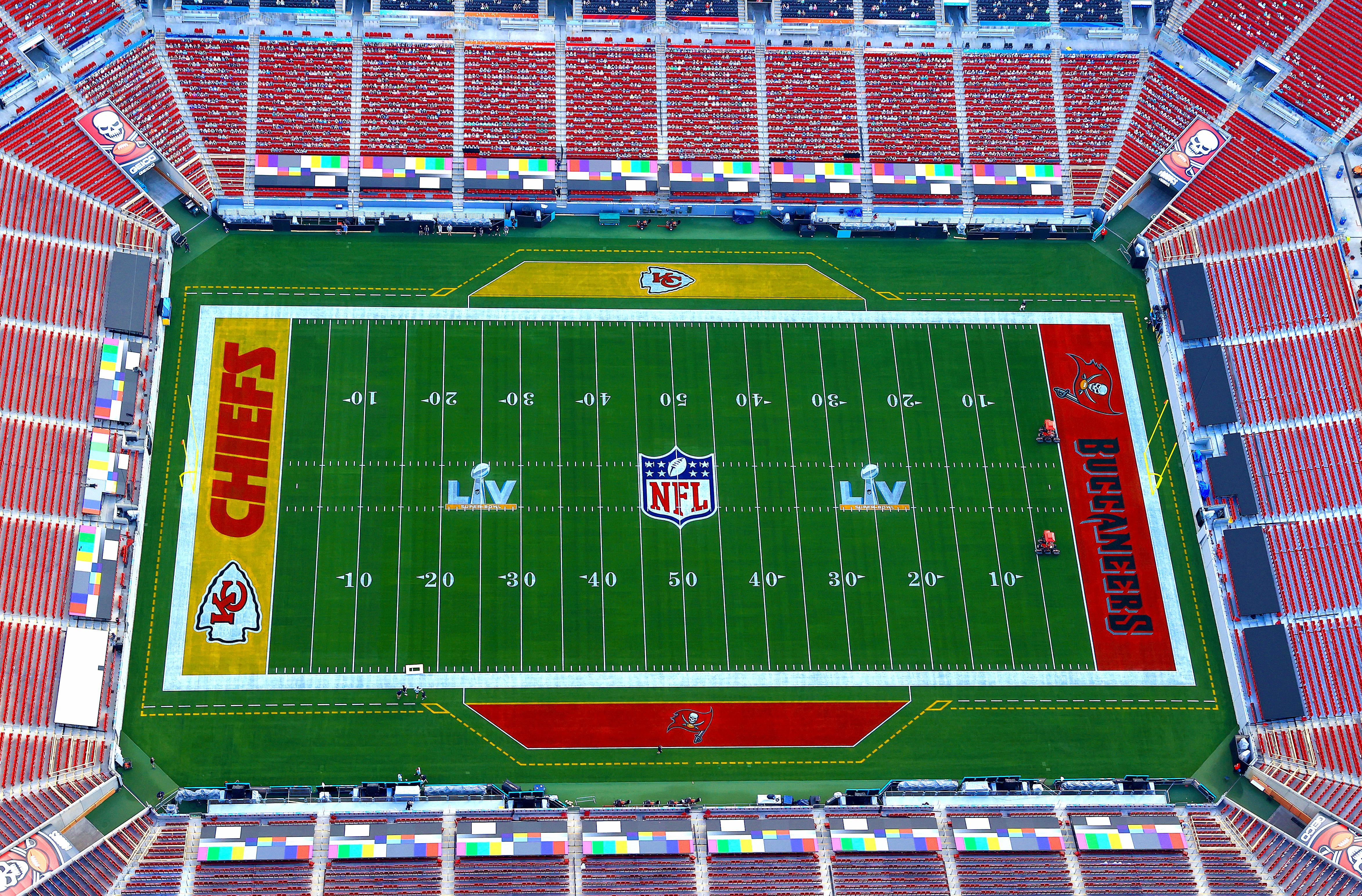 Super Bowl LV - Buccaneers vs. Chiefs