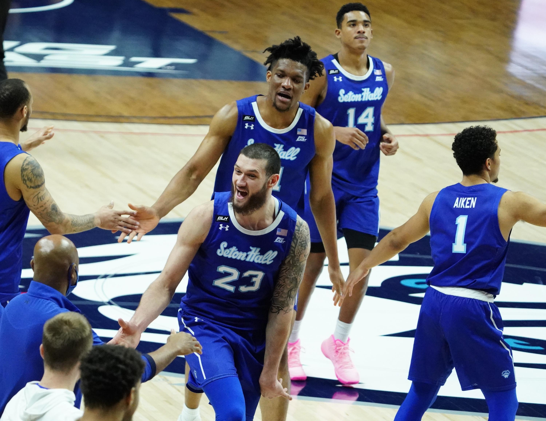 NCAA Basketball: Seton Hall at Connecticut