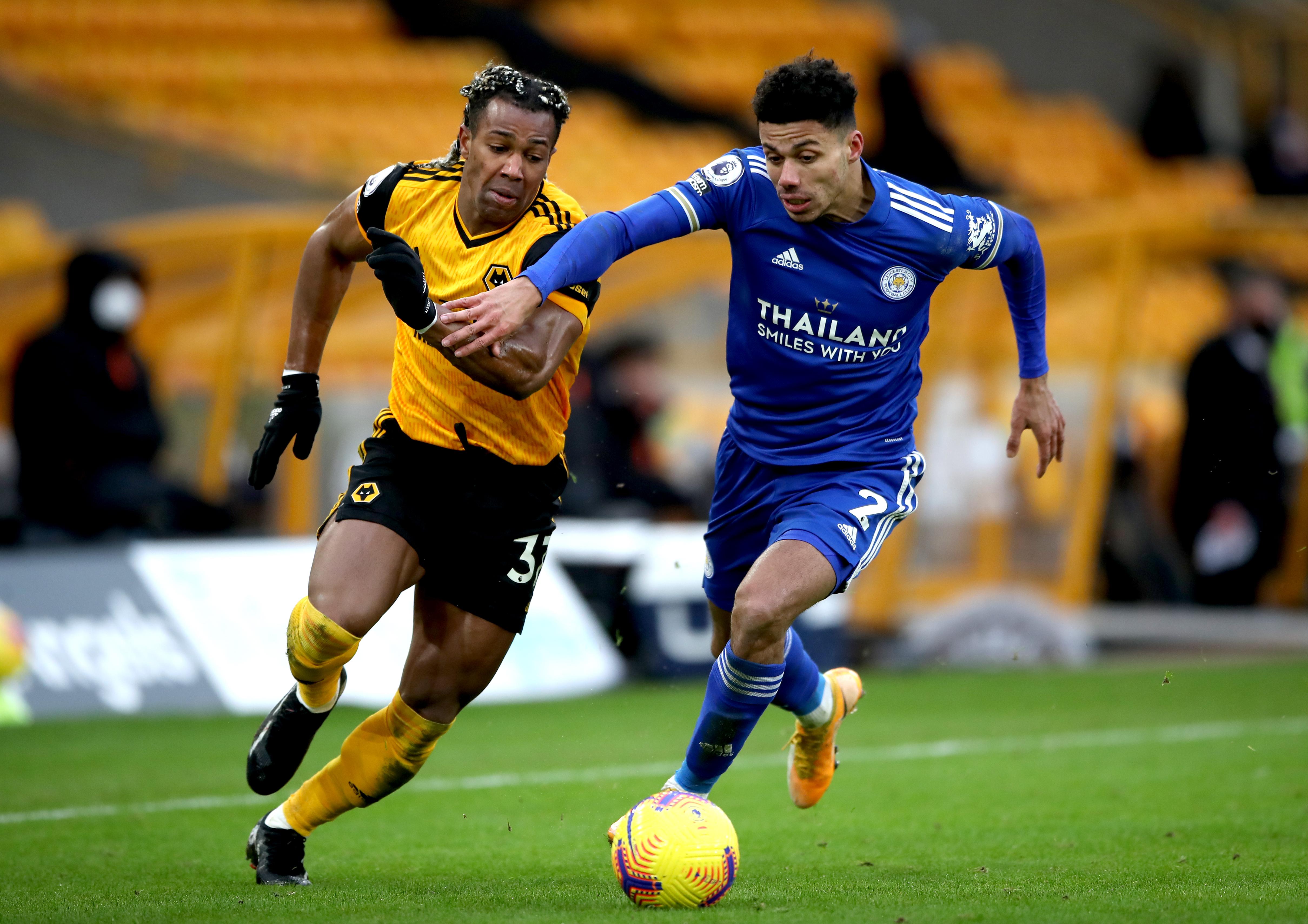 Wolverhampton Wanderers v Leicester City - Premier League - Molineux
