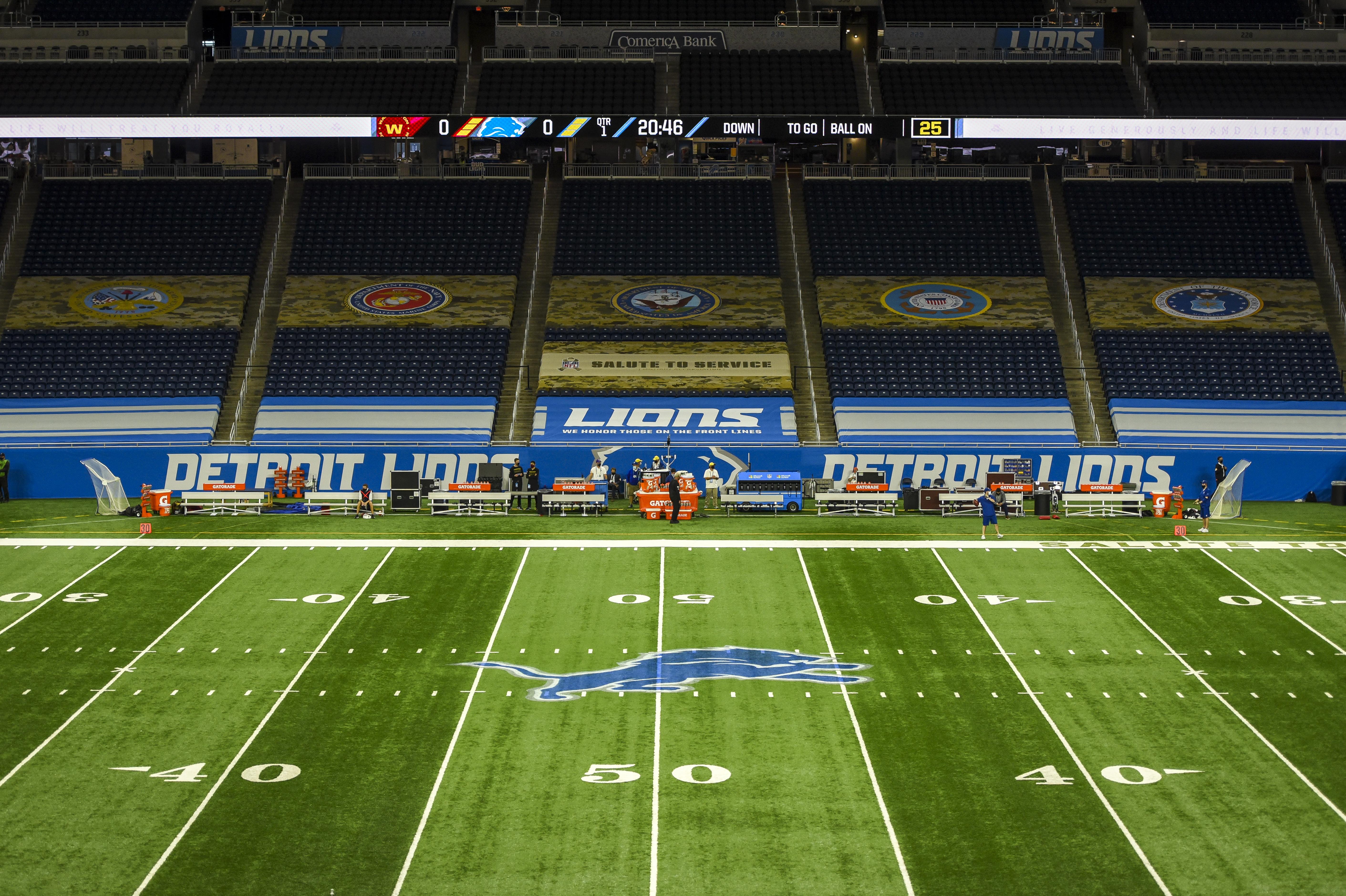Washington Football Team v Detroit Lions