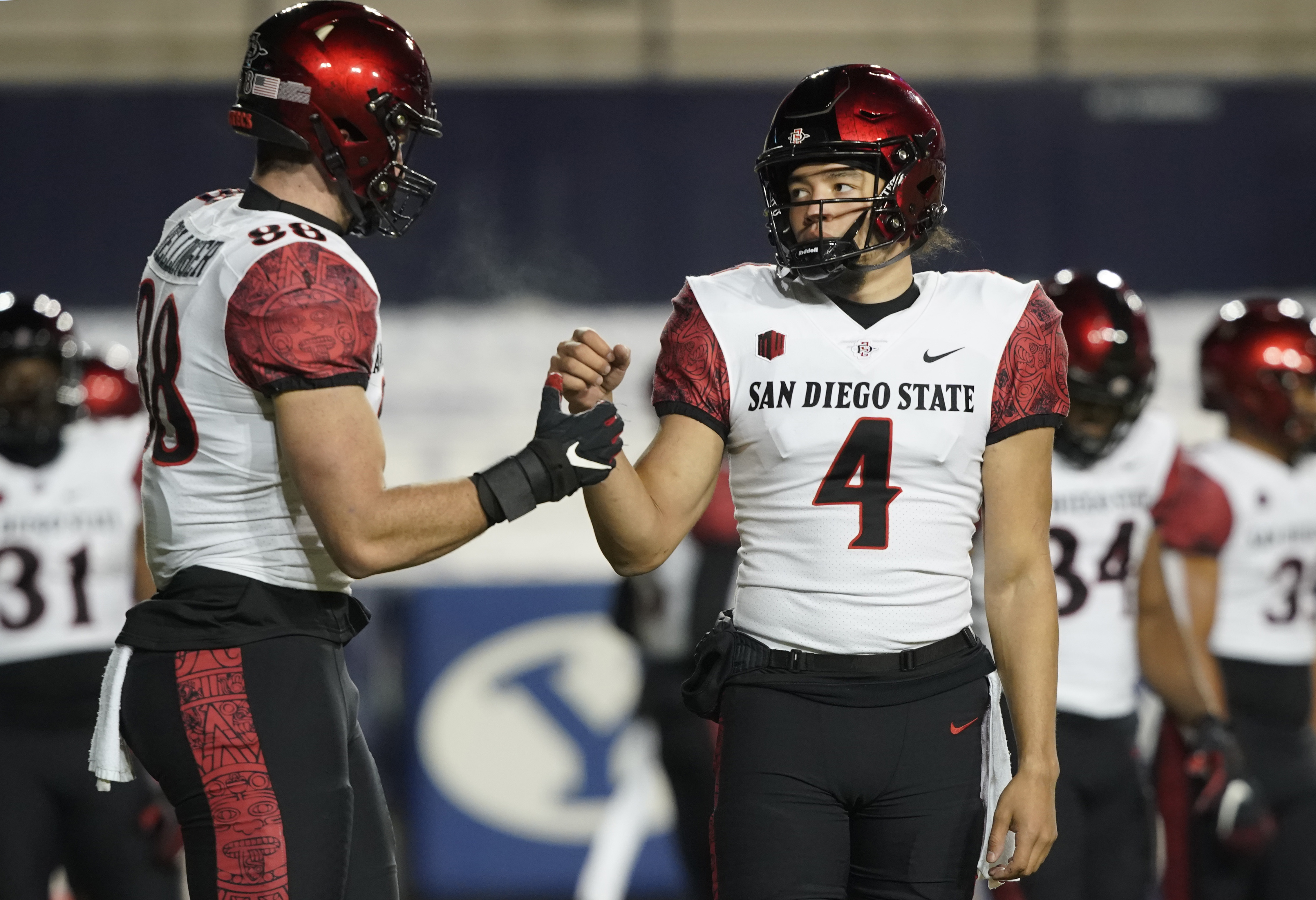 NCAA Football: San Diego State at BYU