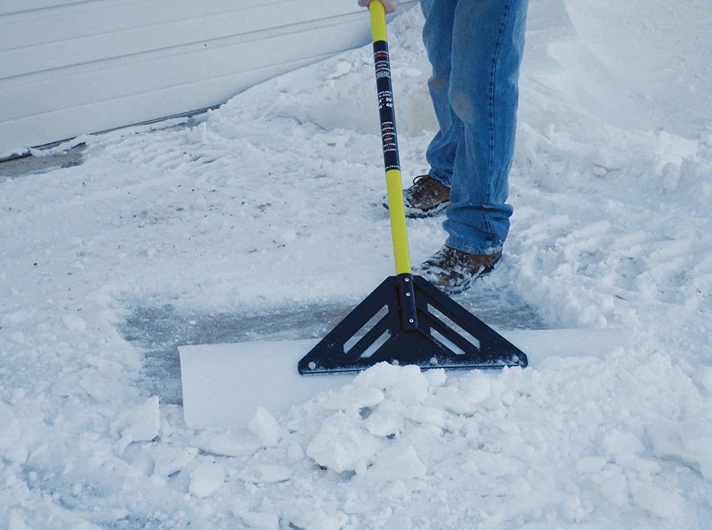 Snowplow Snow Pusher