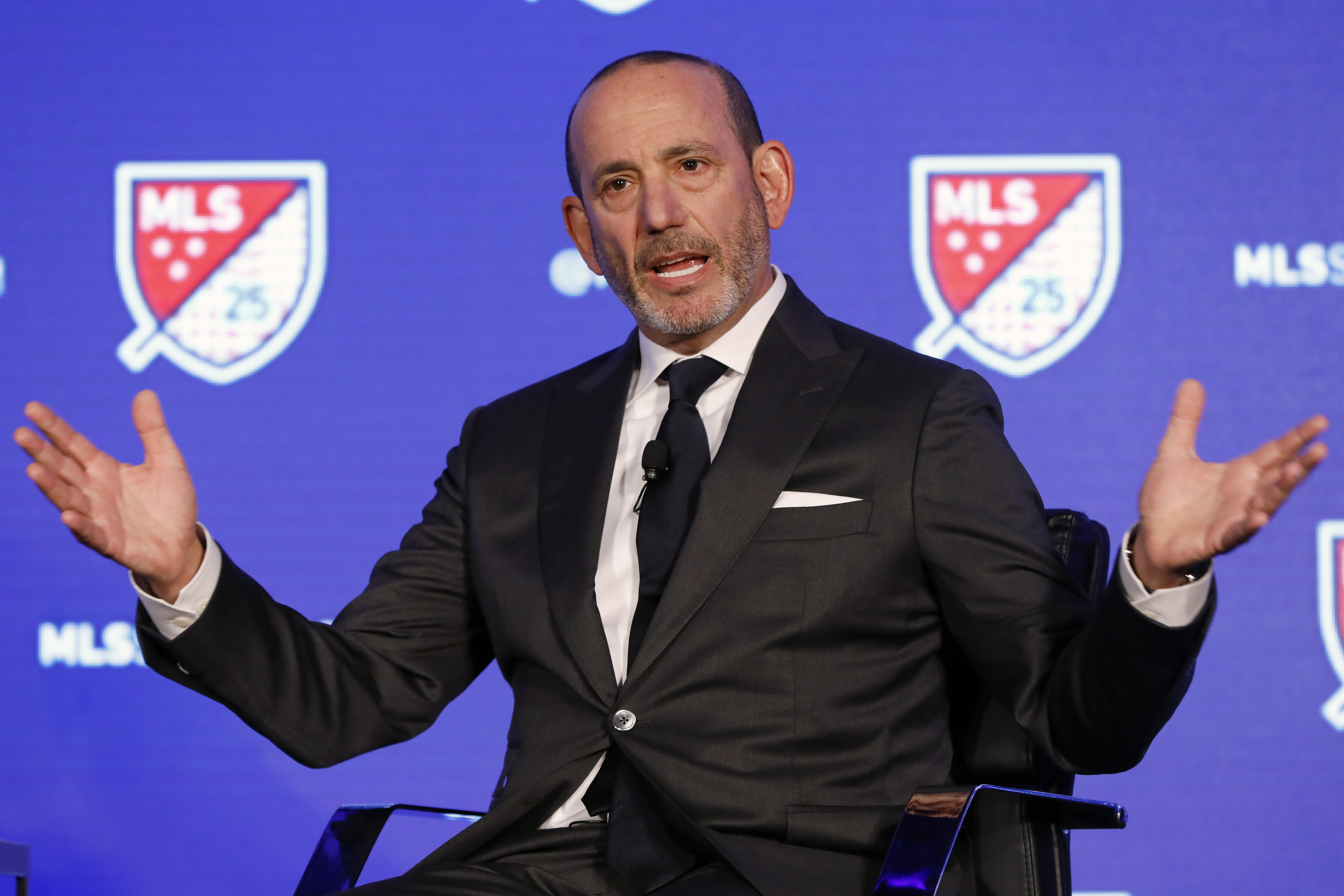 MLS commissioner Don Garber and the league avoided a work stoppage as the players union agreed to a new collective bargaining agreement.