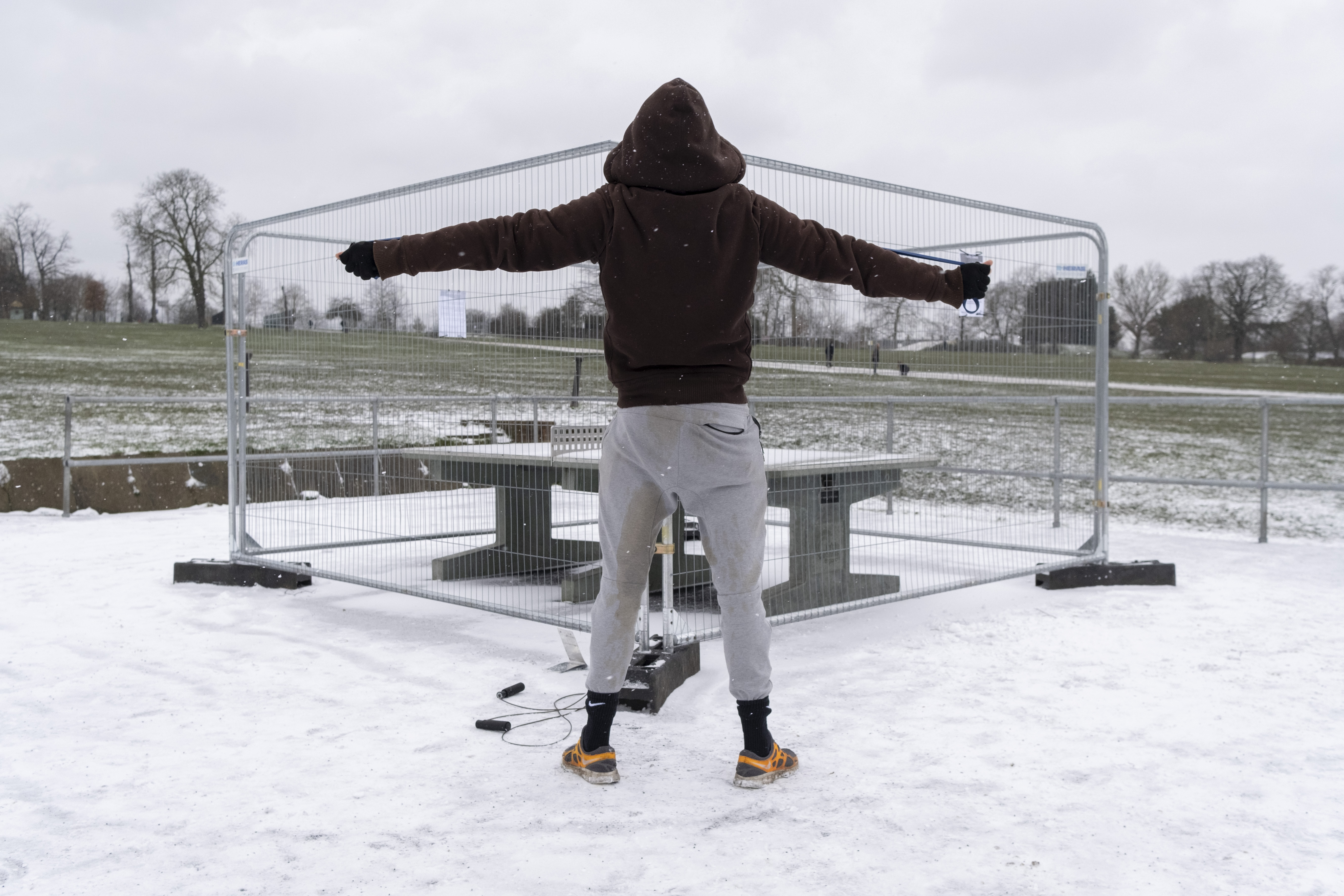 Open-Air Snow Gym