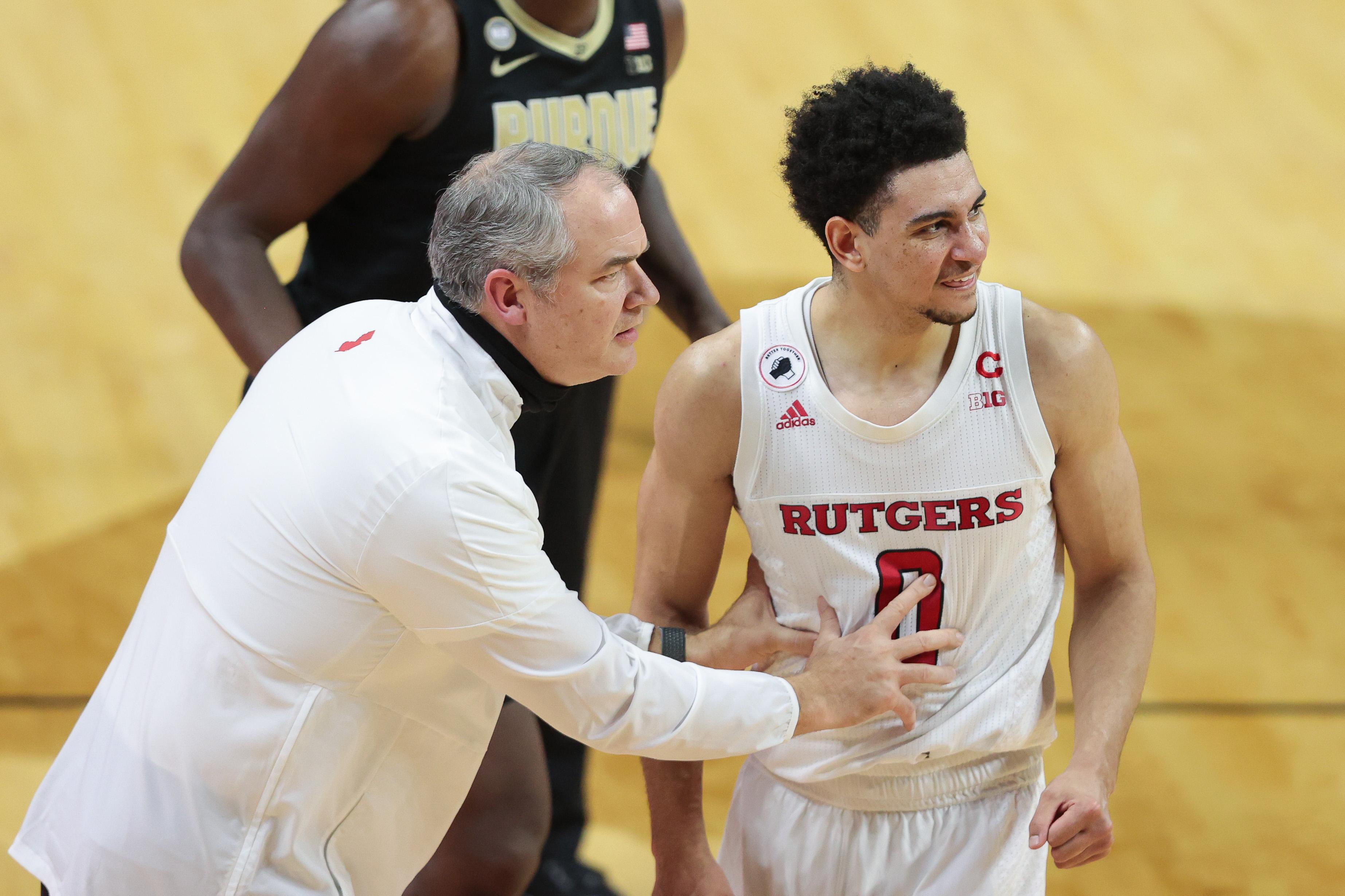 NCAA Basketball: Purdue at Rutgers