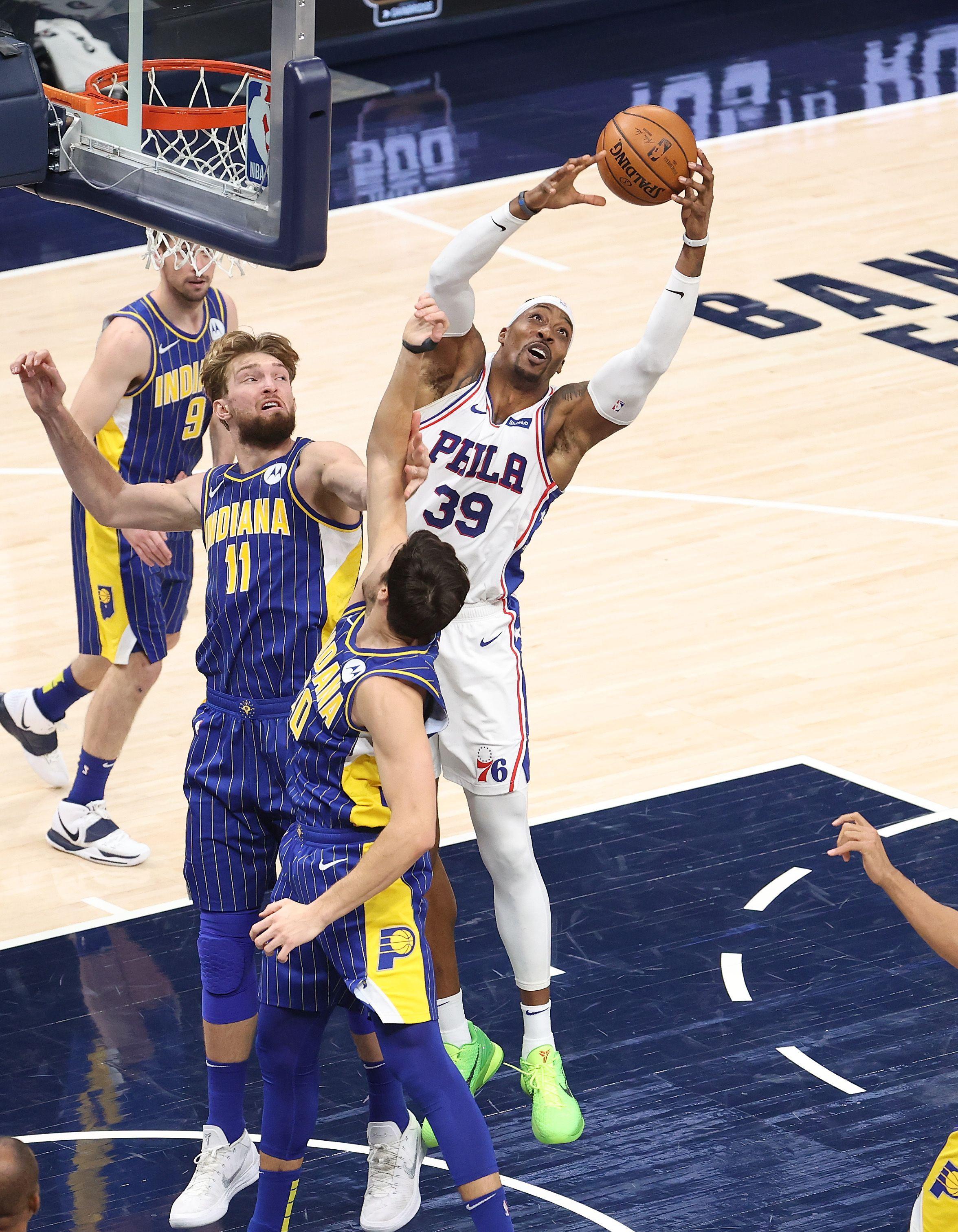 Philadelphia 76ers v Indiana Pacers