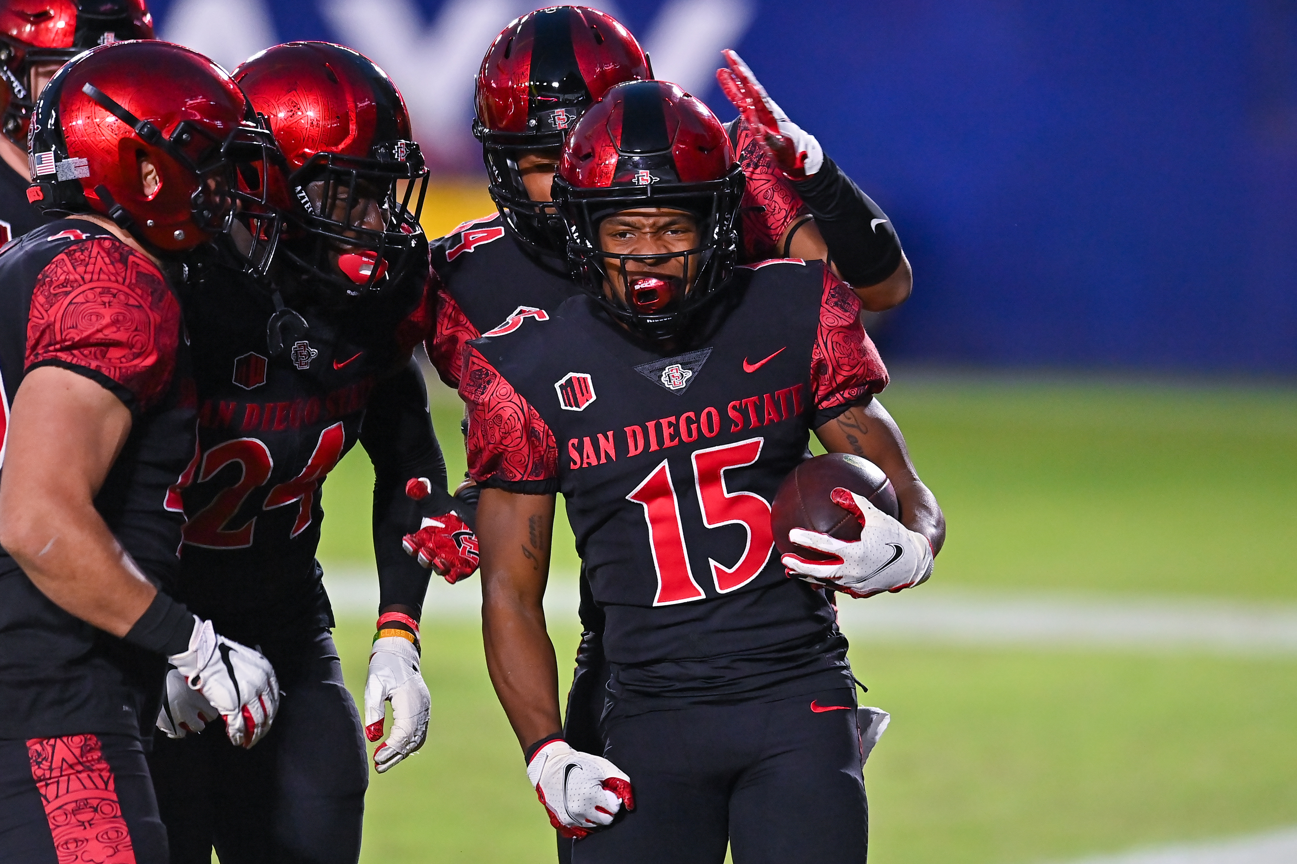 COLLEGE FOOTBALL: DEC 05 Colorado State at San Diego State