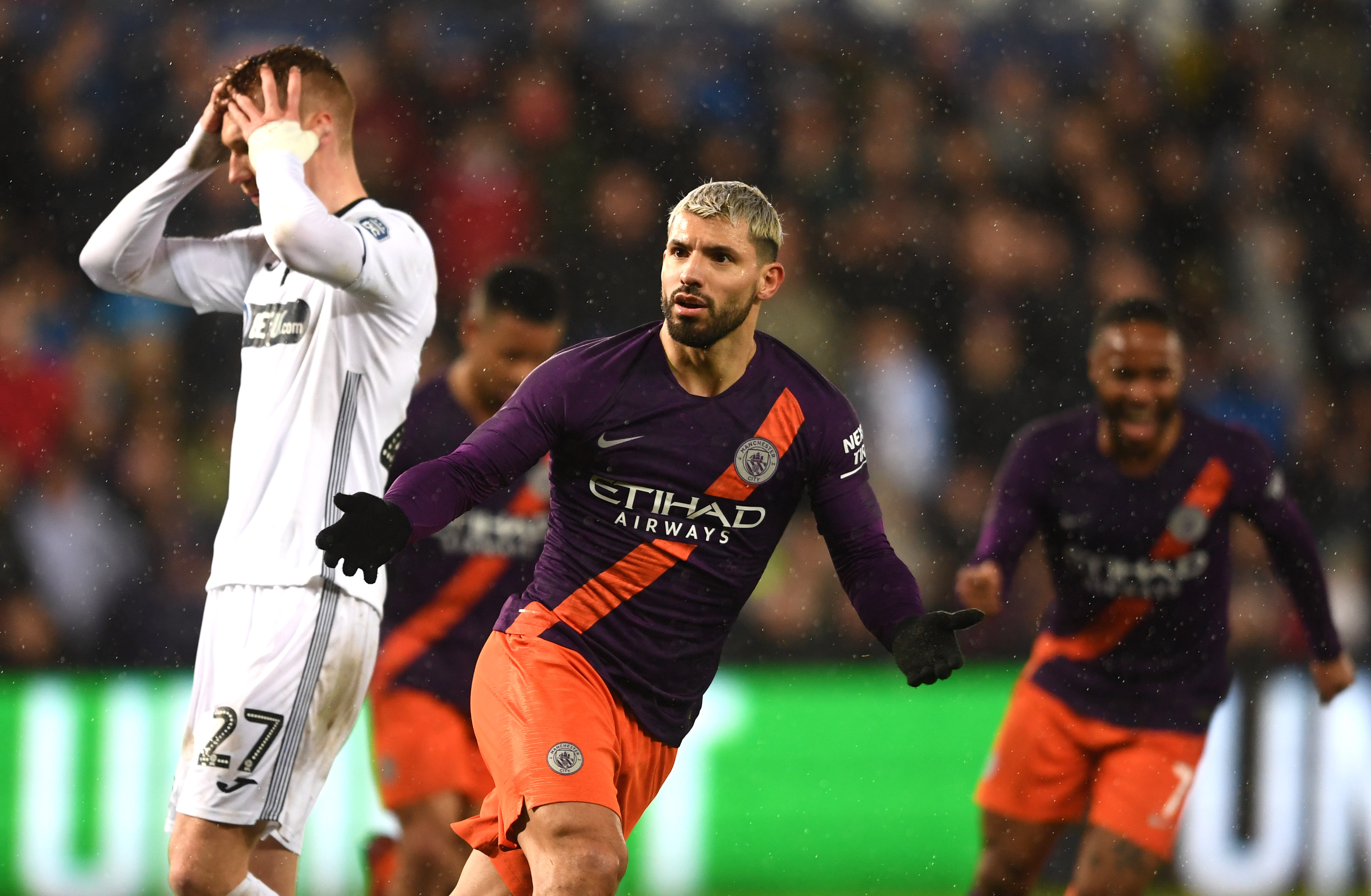 Swansea City v Manchester City - FA Cup Quarter Final