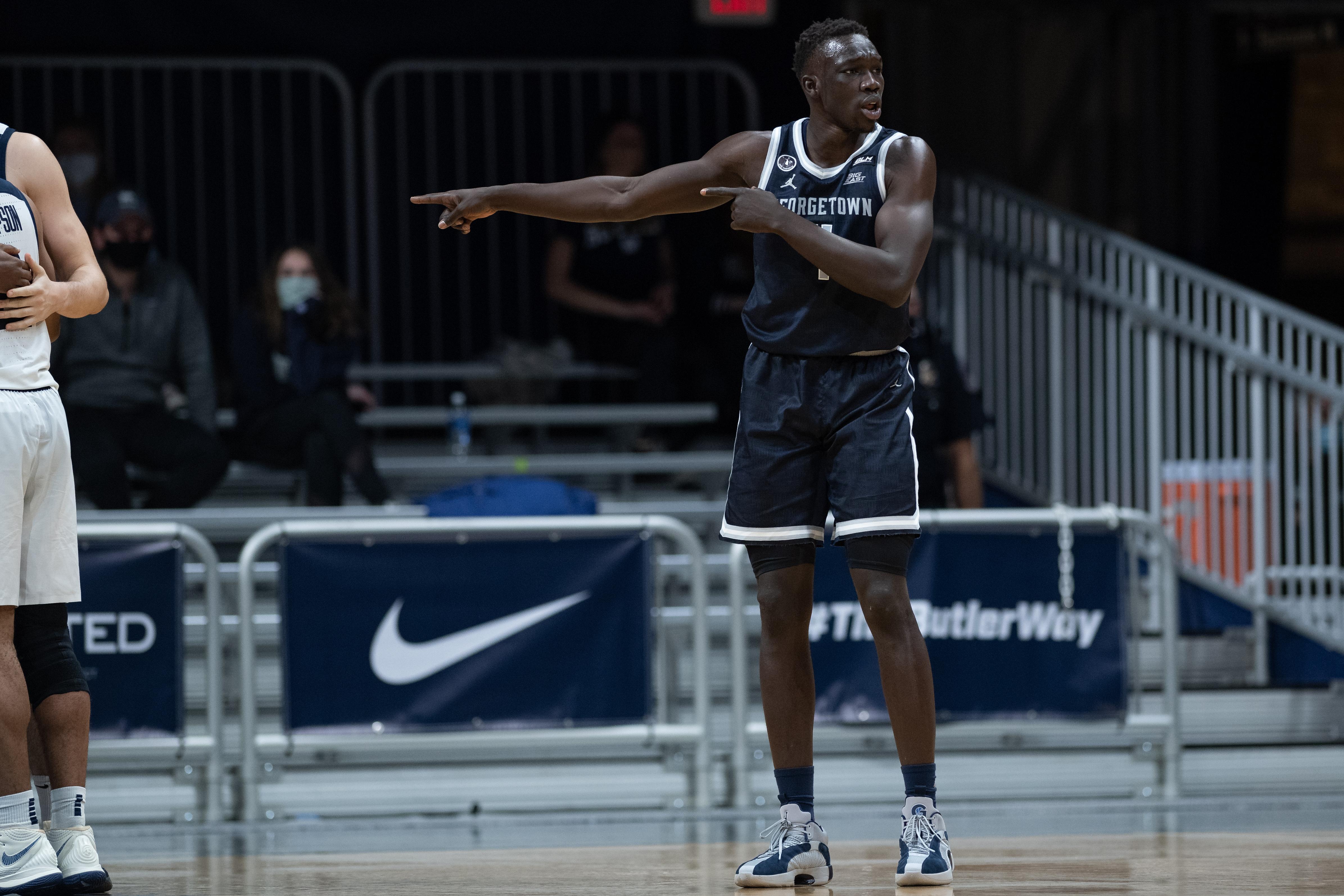 COLLEGE BASKETBALL: JAN 06 Georgetown at Butler