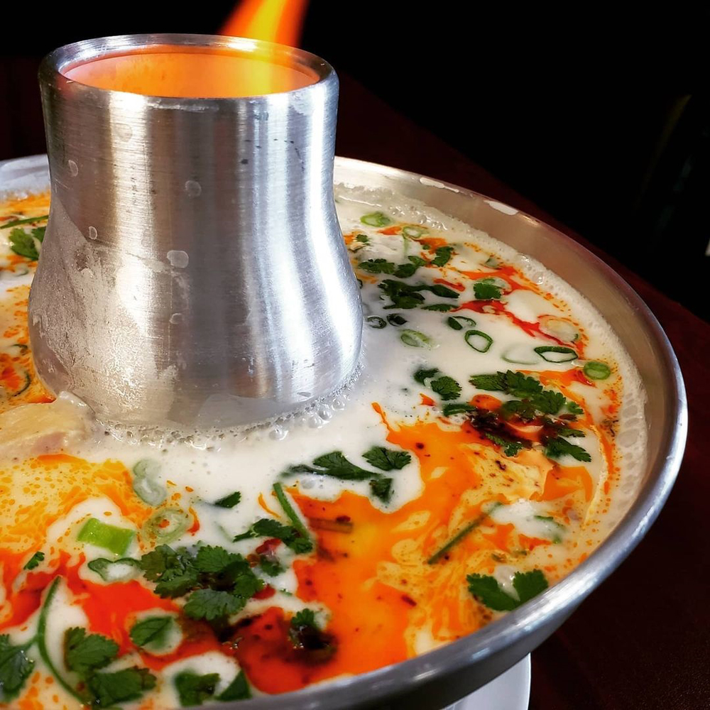 Tom kha chicken soup, on the menu at Ocha Thai Expressin Henderson.