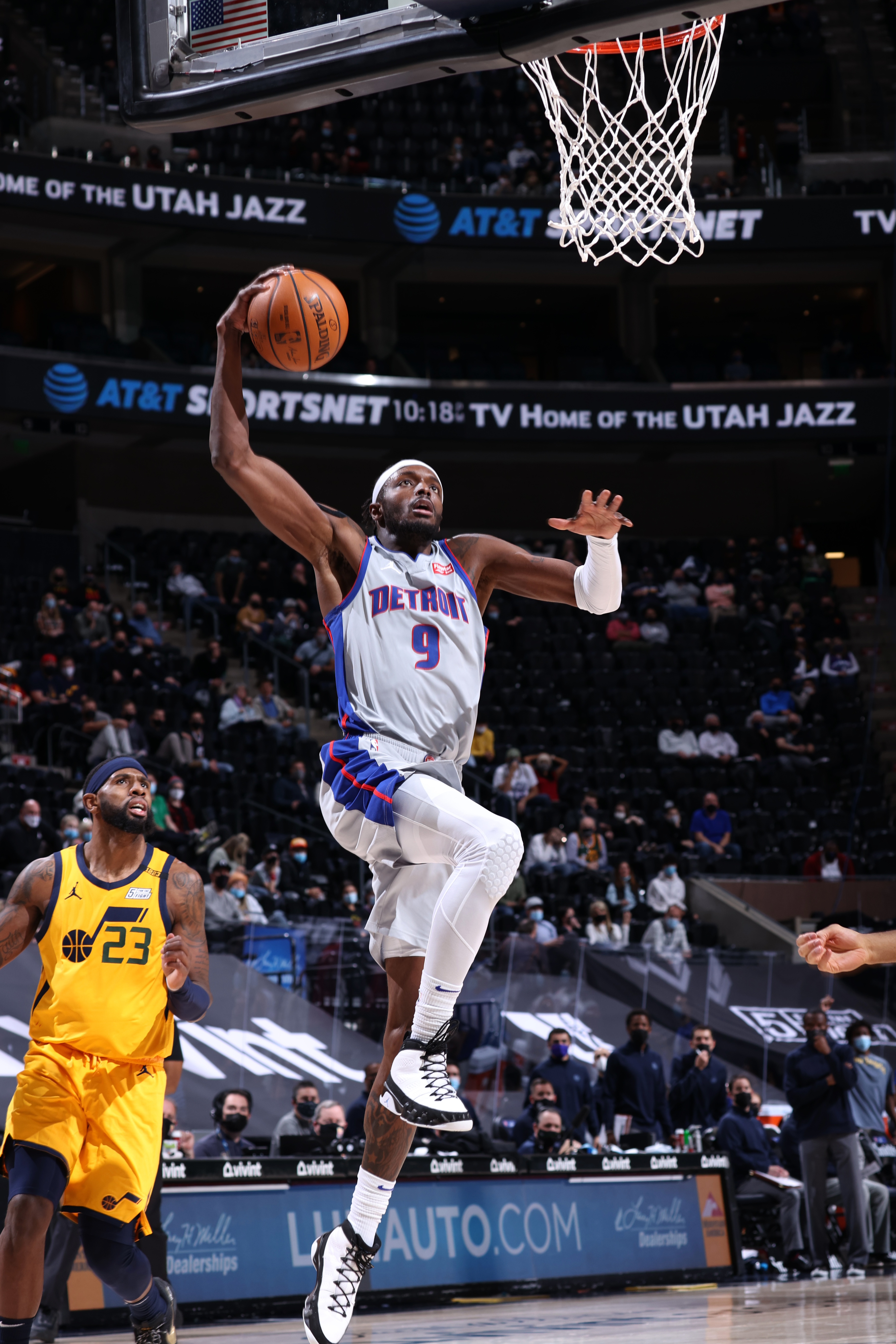 Detroit Pistons v Utah Jazz