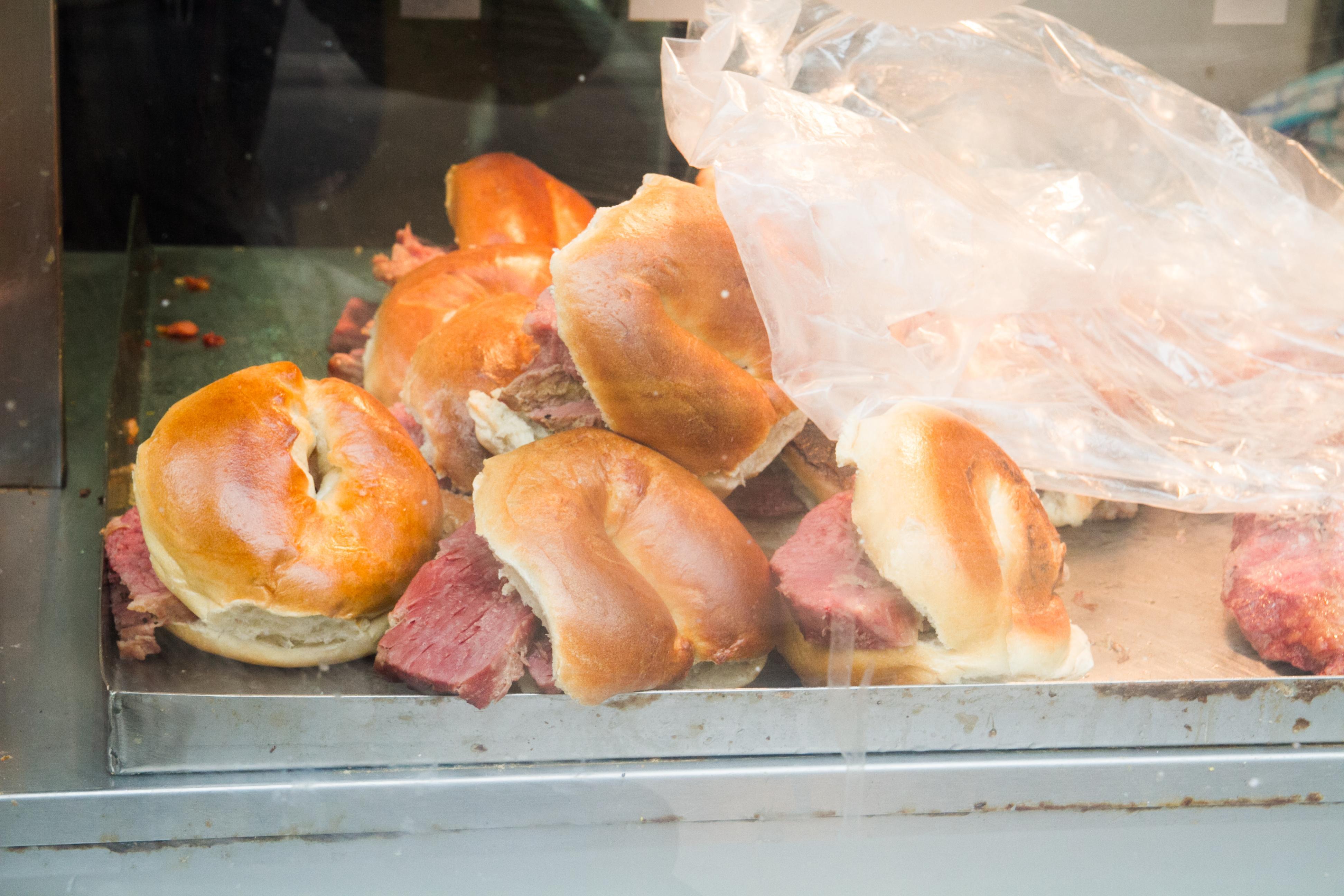 London's best bagels include salt beef at Beigel Bake