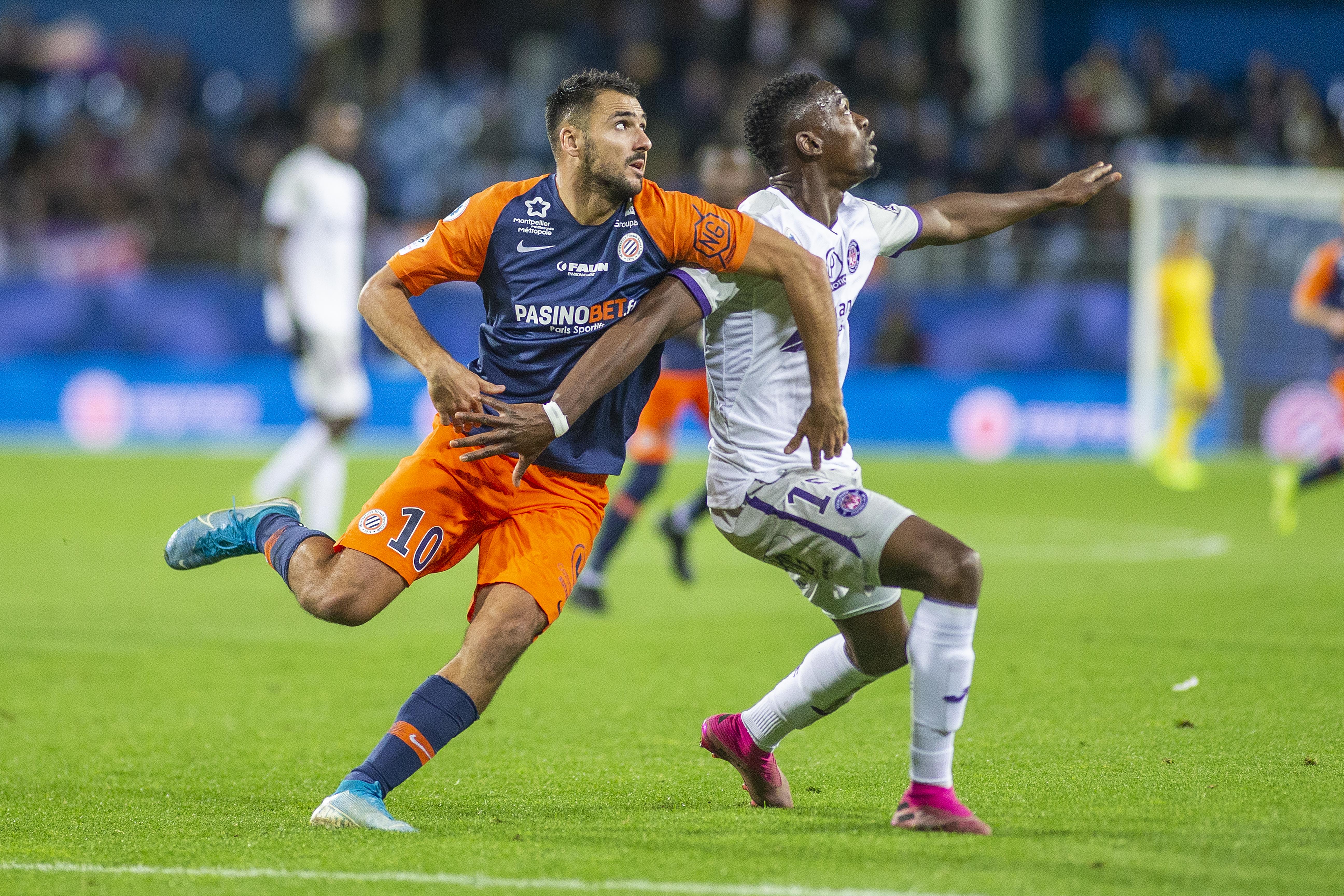 Montpellier V Toulouse.