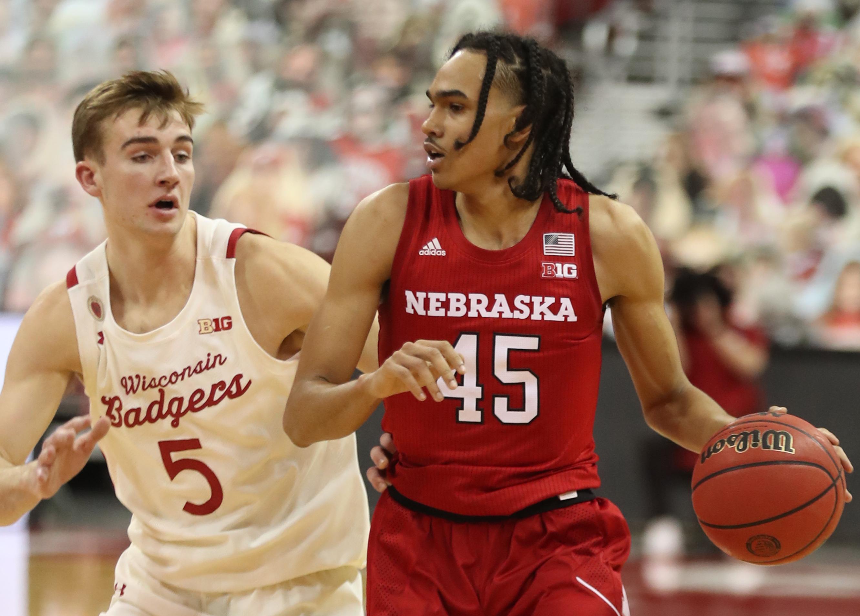 NCAA Basketball: Nebraska at Wisconsin