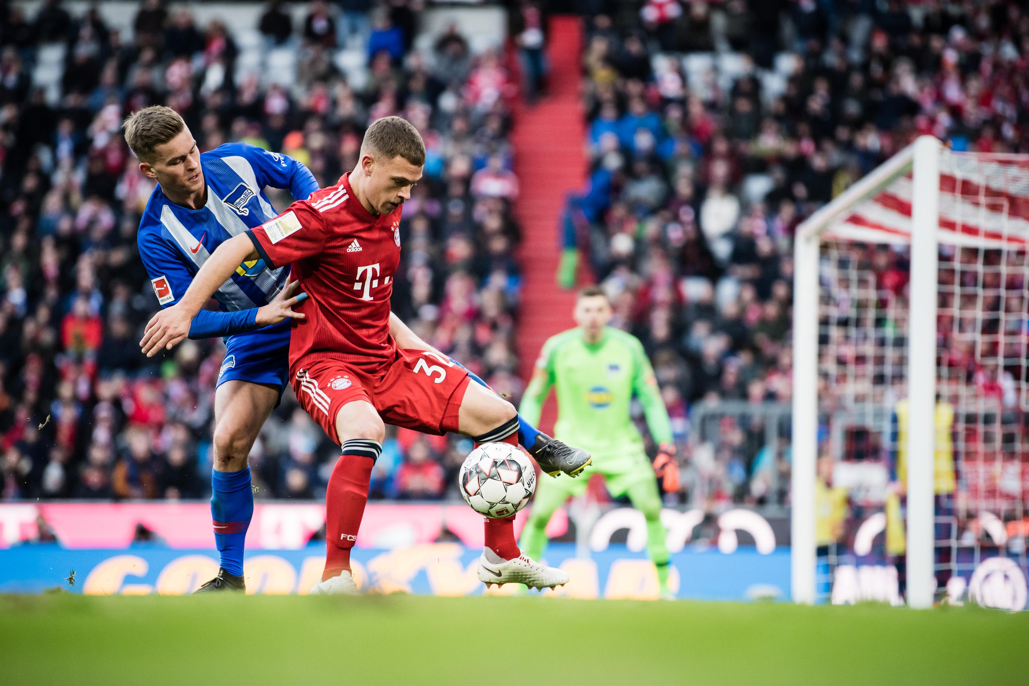FC Bayern Muenchen v Hertha Berlin - Bundesliga For DFL