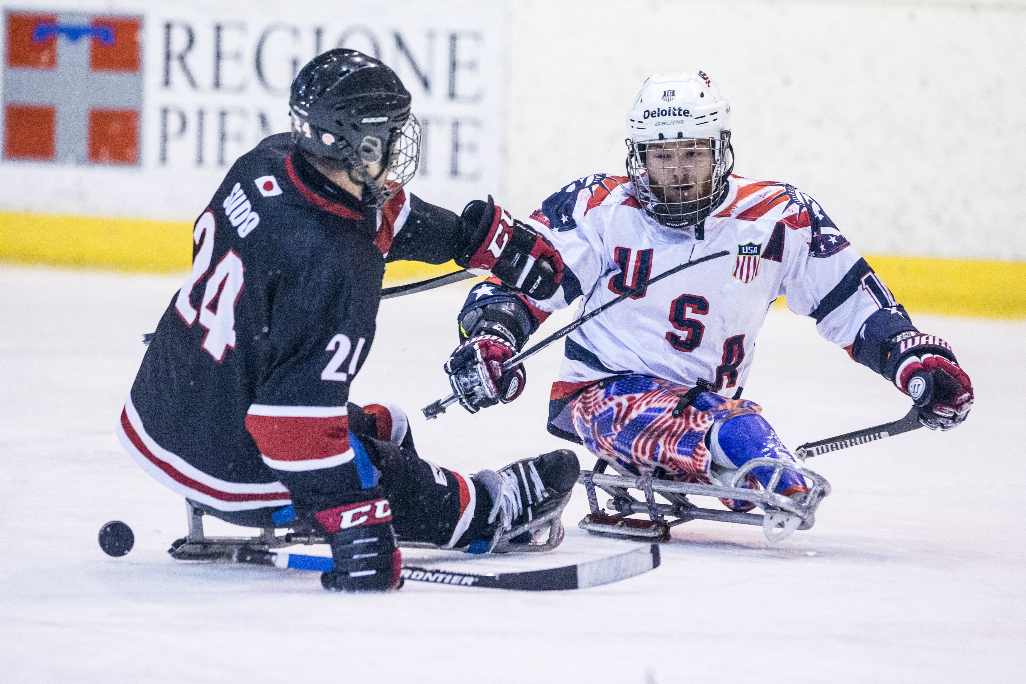 USA v Japan - Ice Hockey Paralympic Games