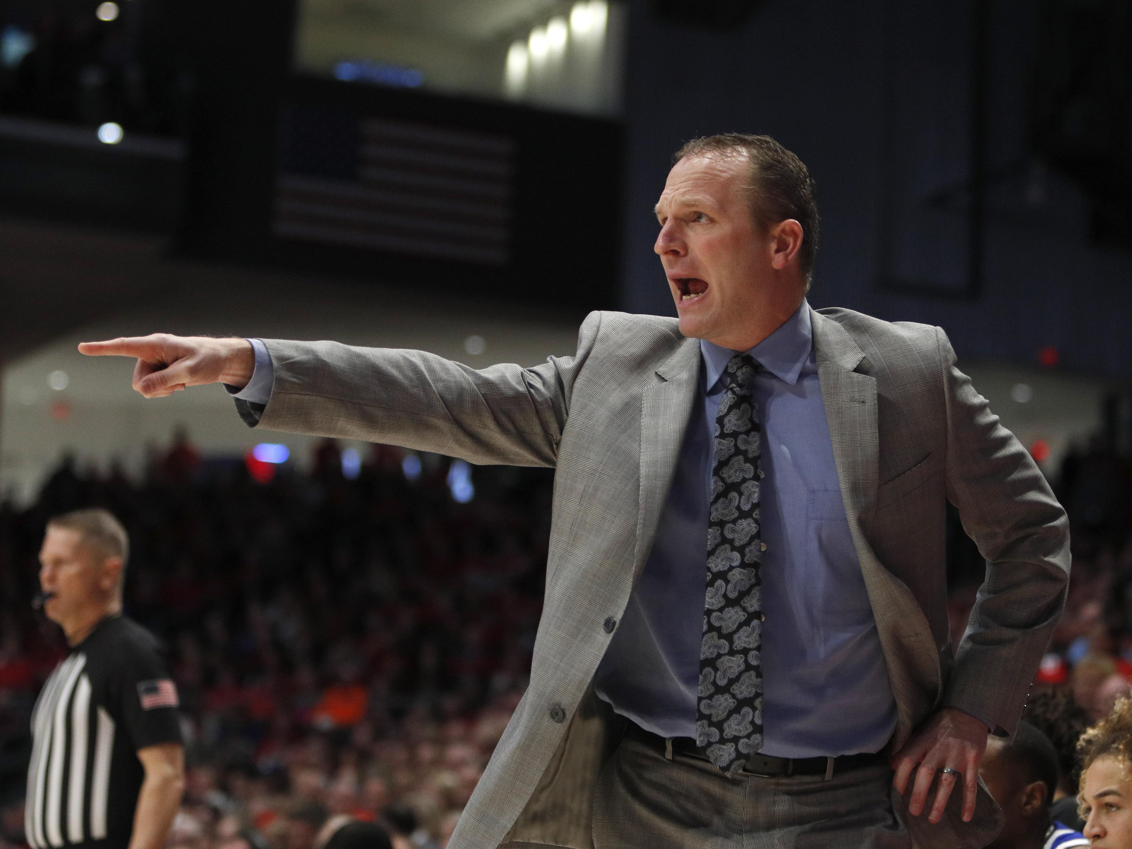 NCAA Basketball: Drake at Dayton
