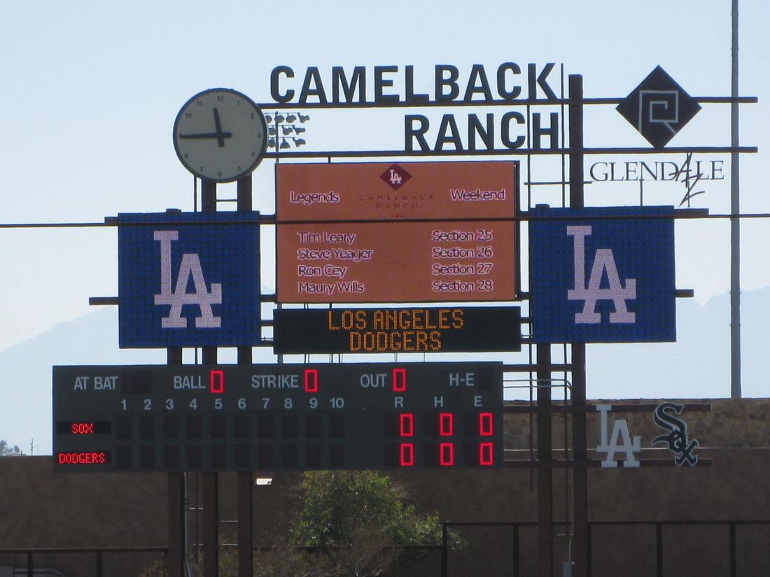 camelback-ranch-scoreboard-022313