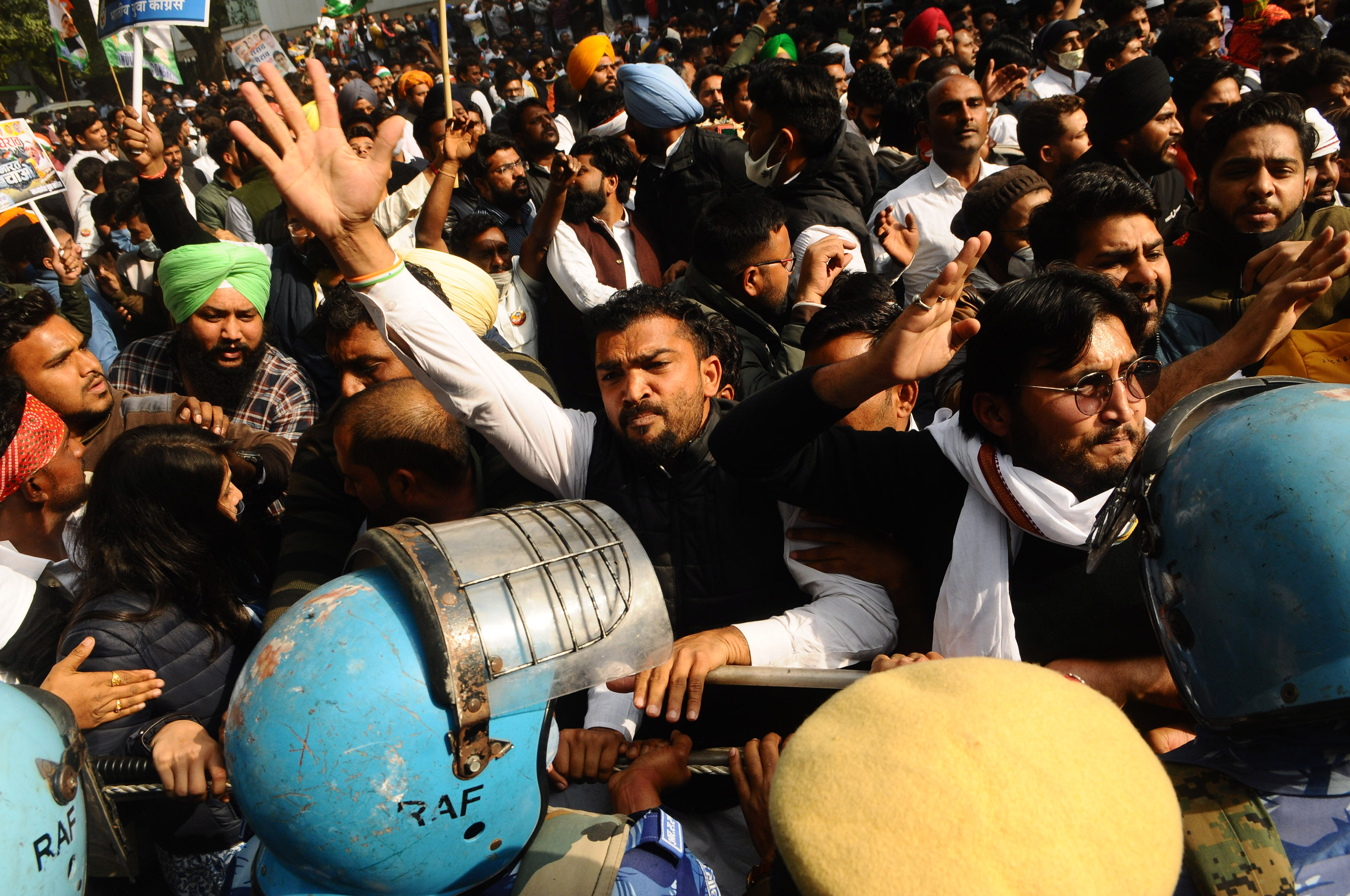 Indian farmers' protests continue