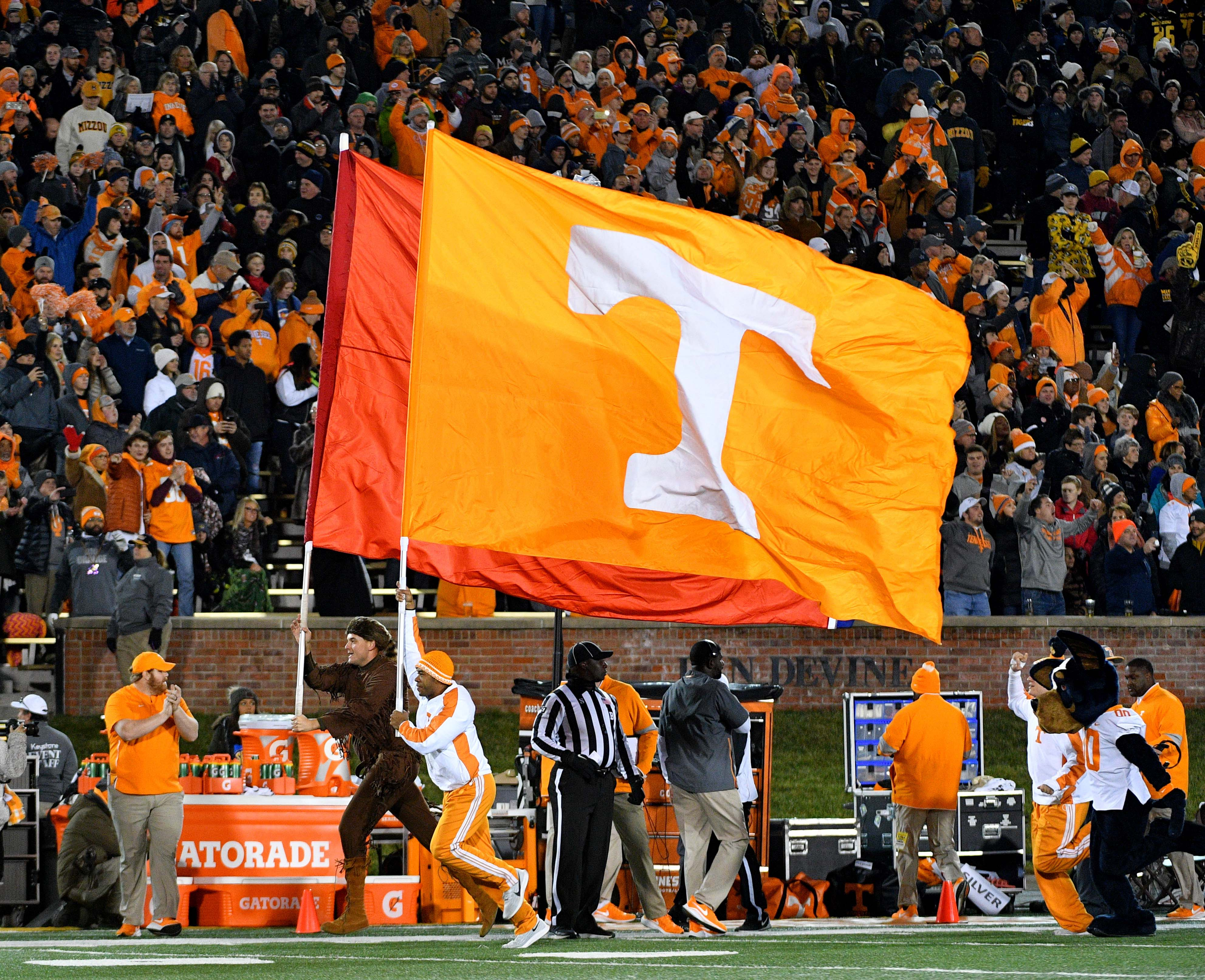 NCAA Football: Tennessee at Missouri