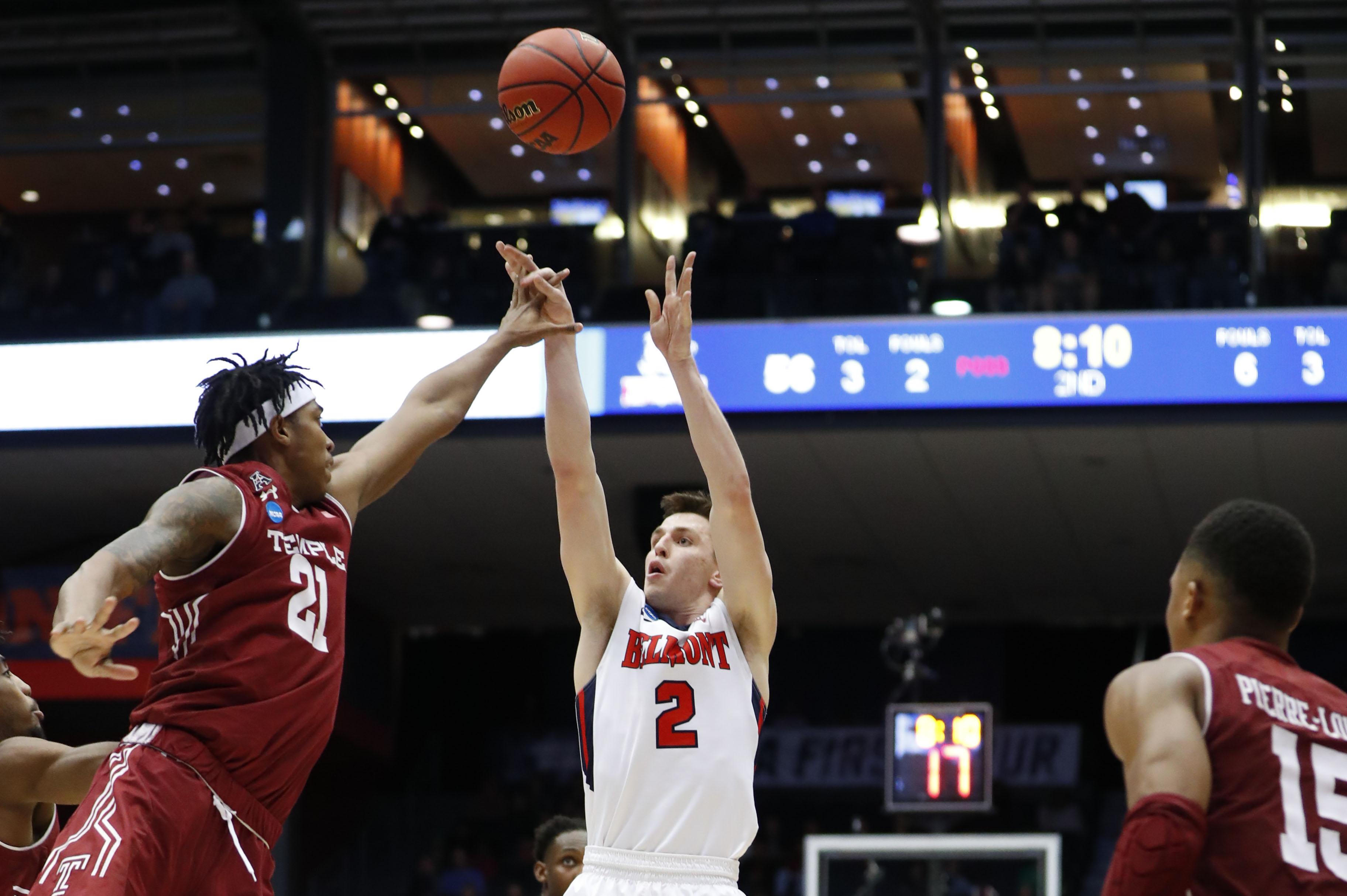 NCAA Basketball: NCAA Tournament First Four- Belmont Bruins vs Temple Owls