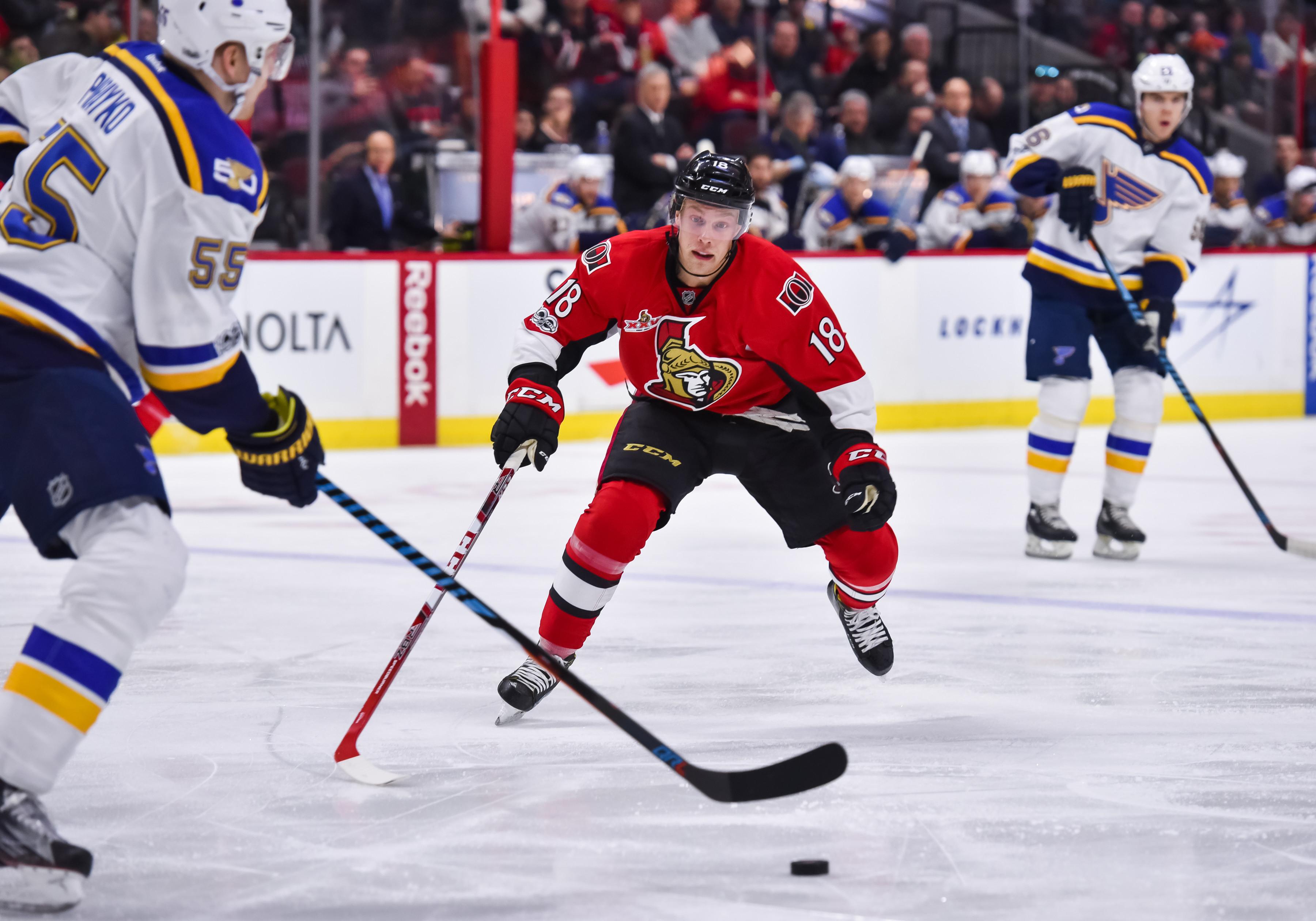 NHL: FEB 07 Blues at Senators