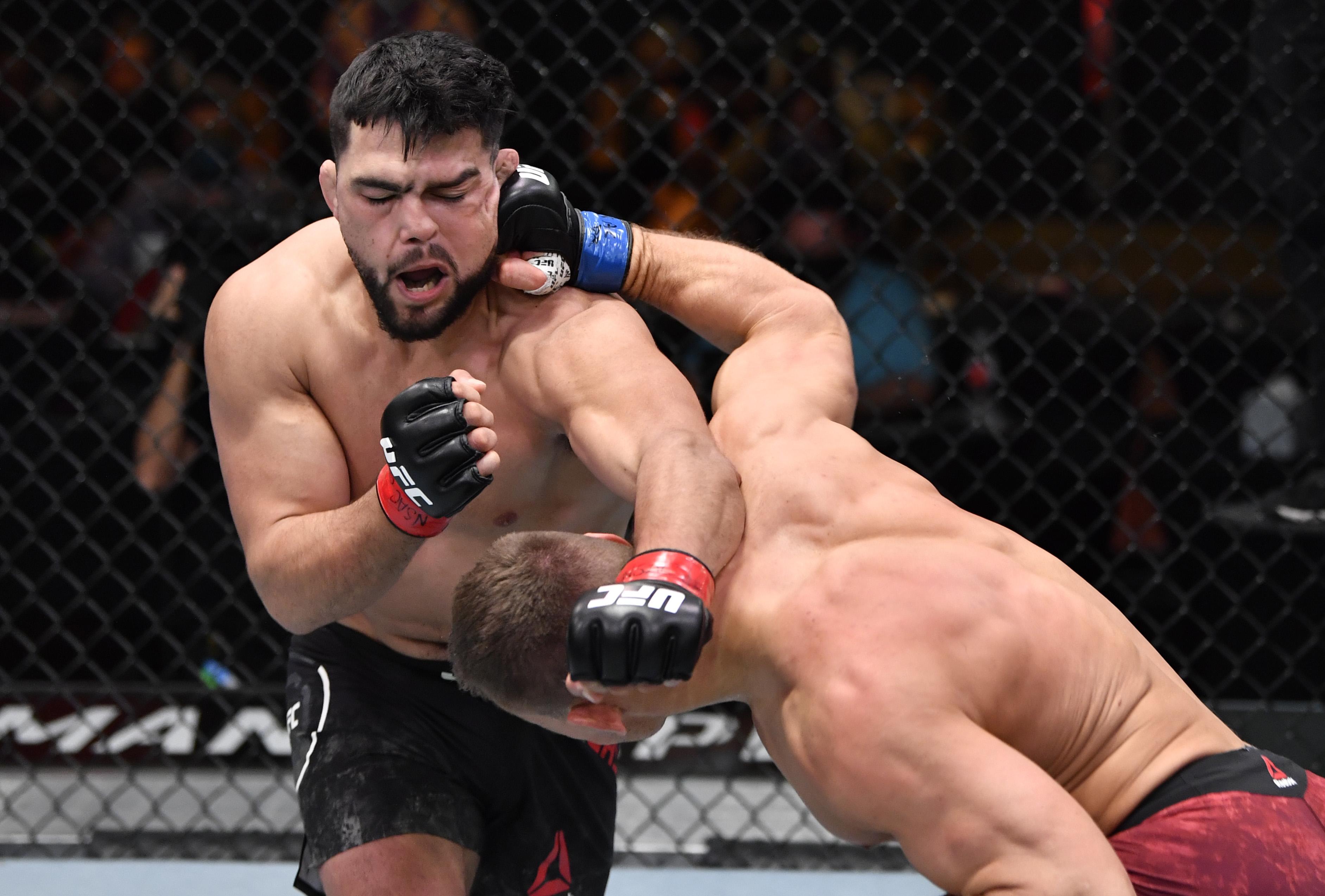 UFC 258: Gastelum v Heinisch