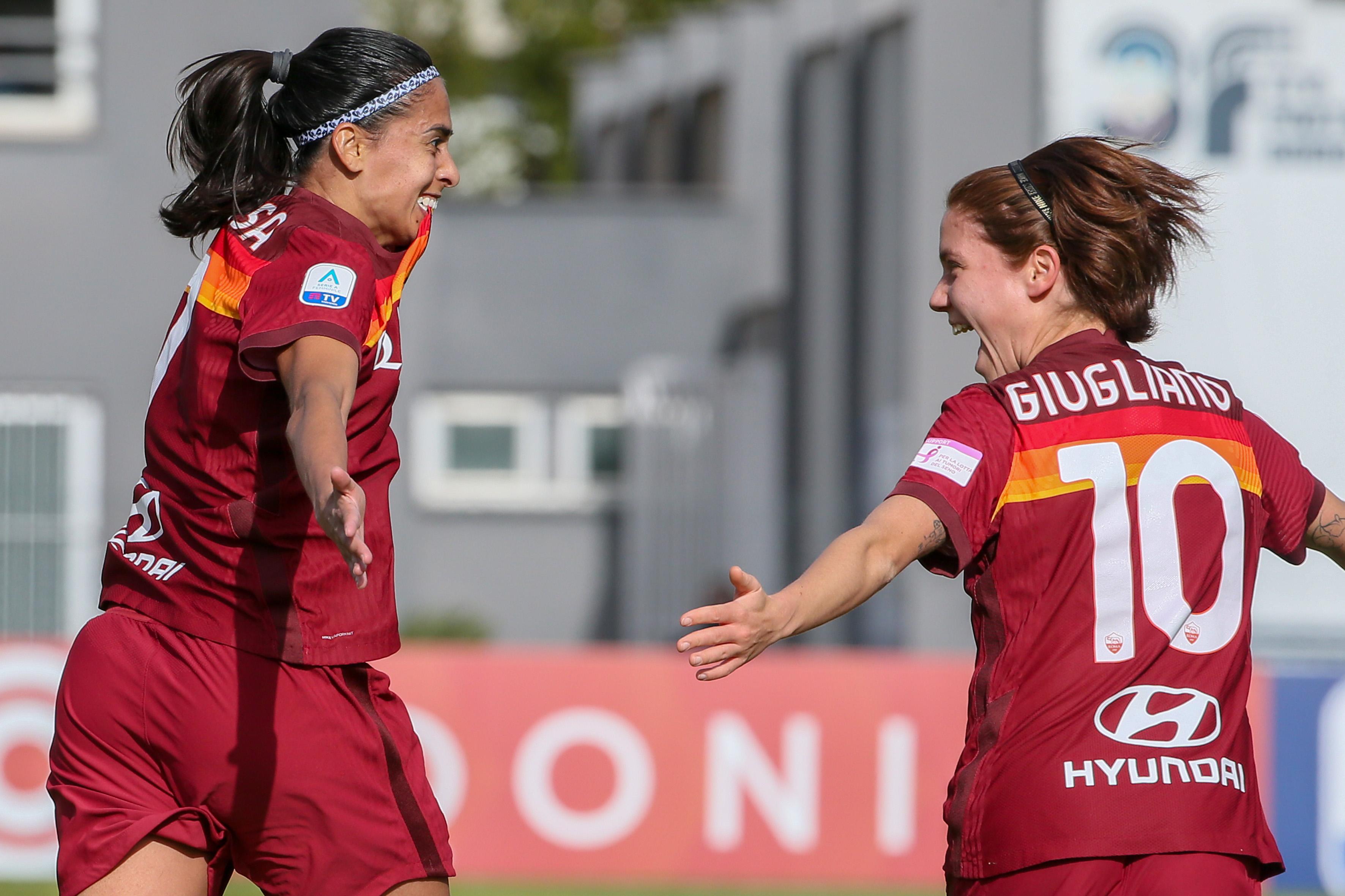 AS Roma v US Sassuolo - Women's Serie A