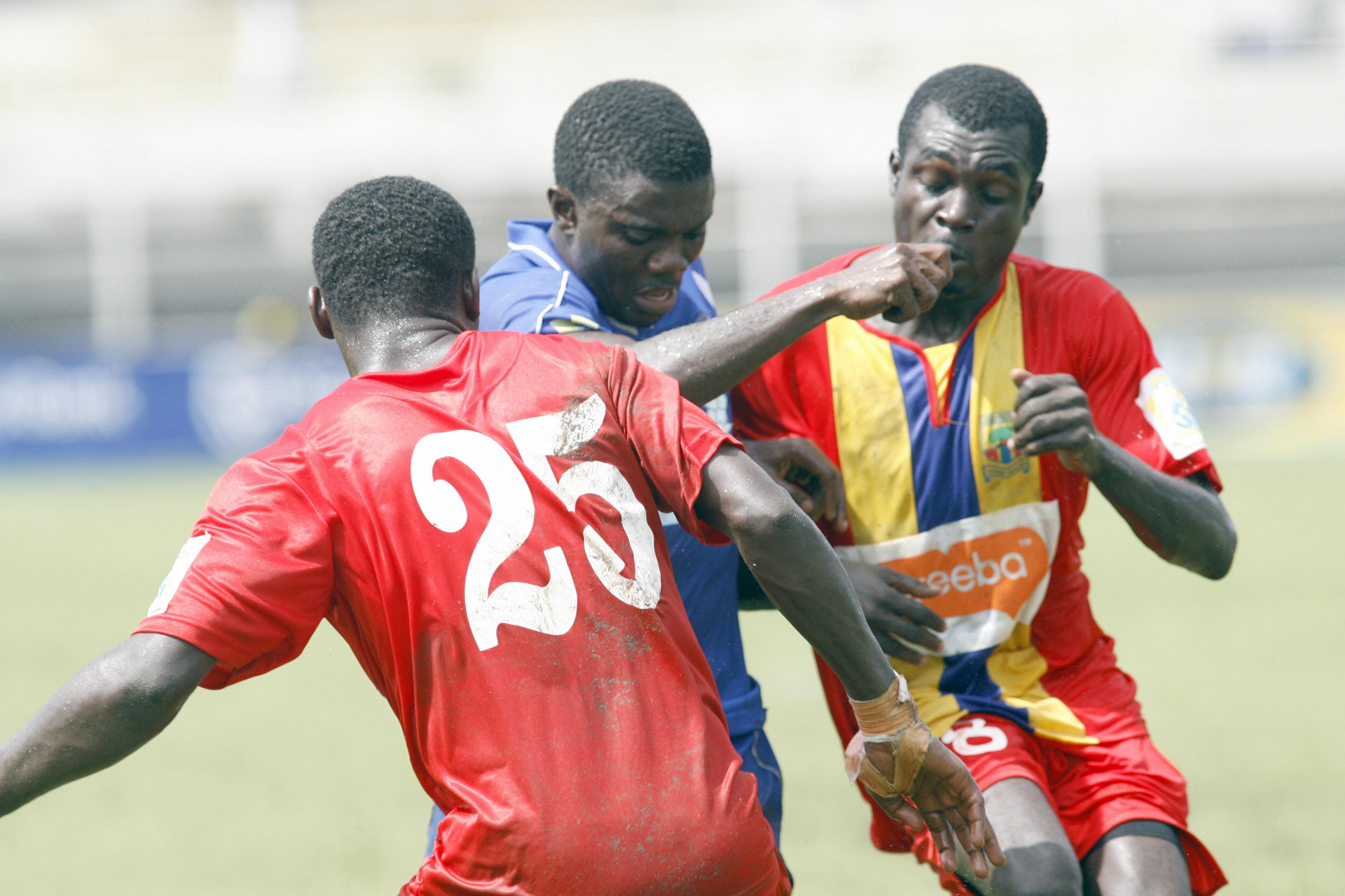Ghanaian Hearts of Oak defenders Daniel