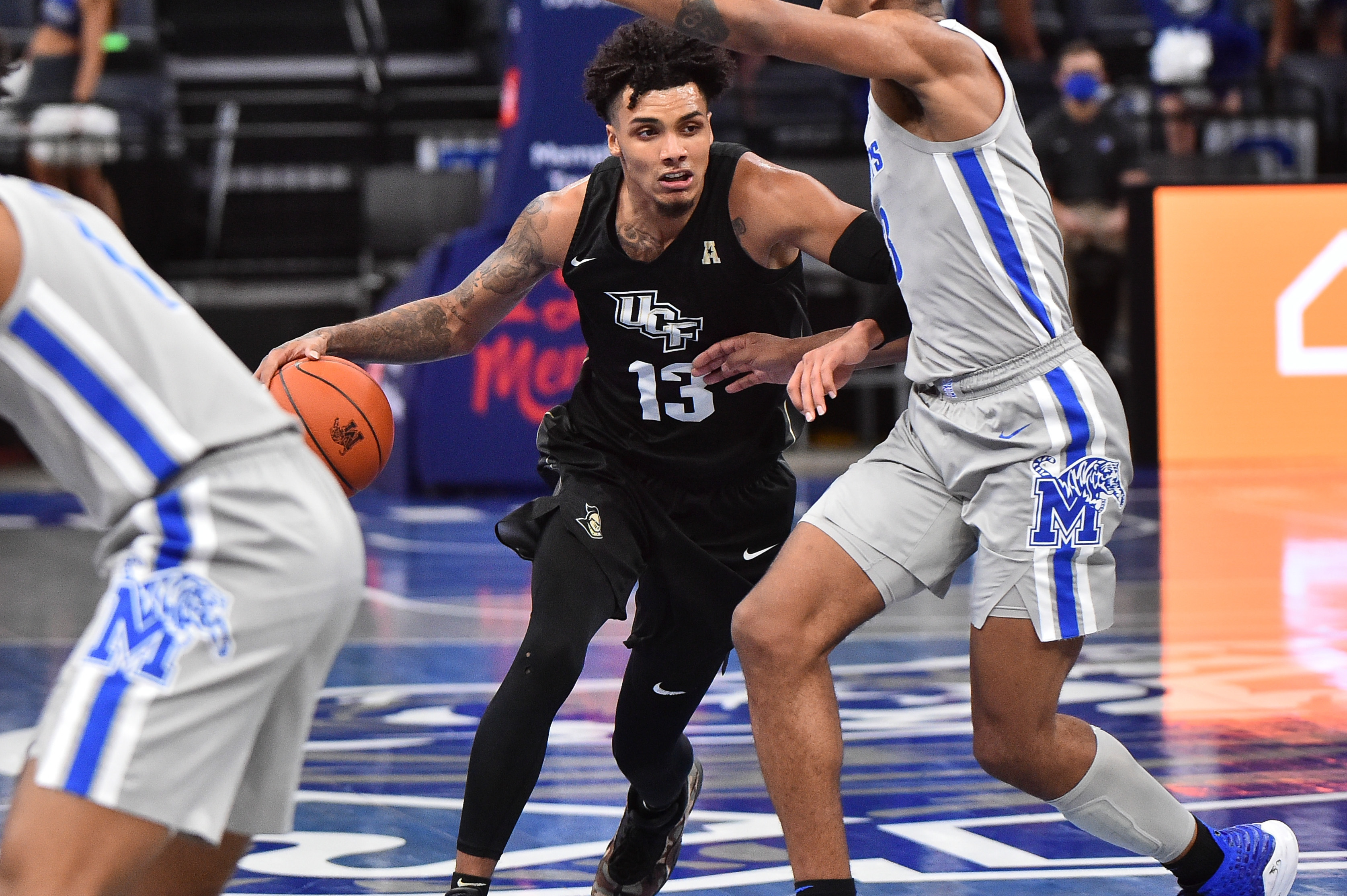 NCAA Basketball: Central Florida at Memphis