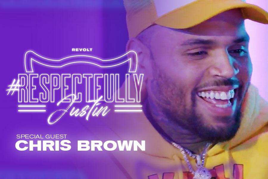 "Chris Brown on ""Respectfully Justin"""