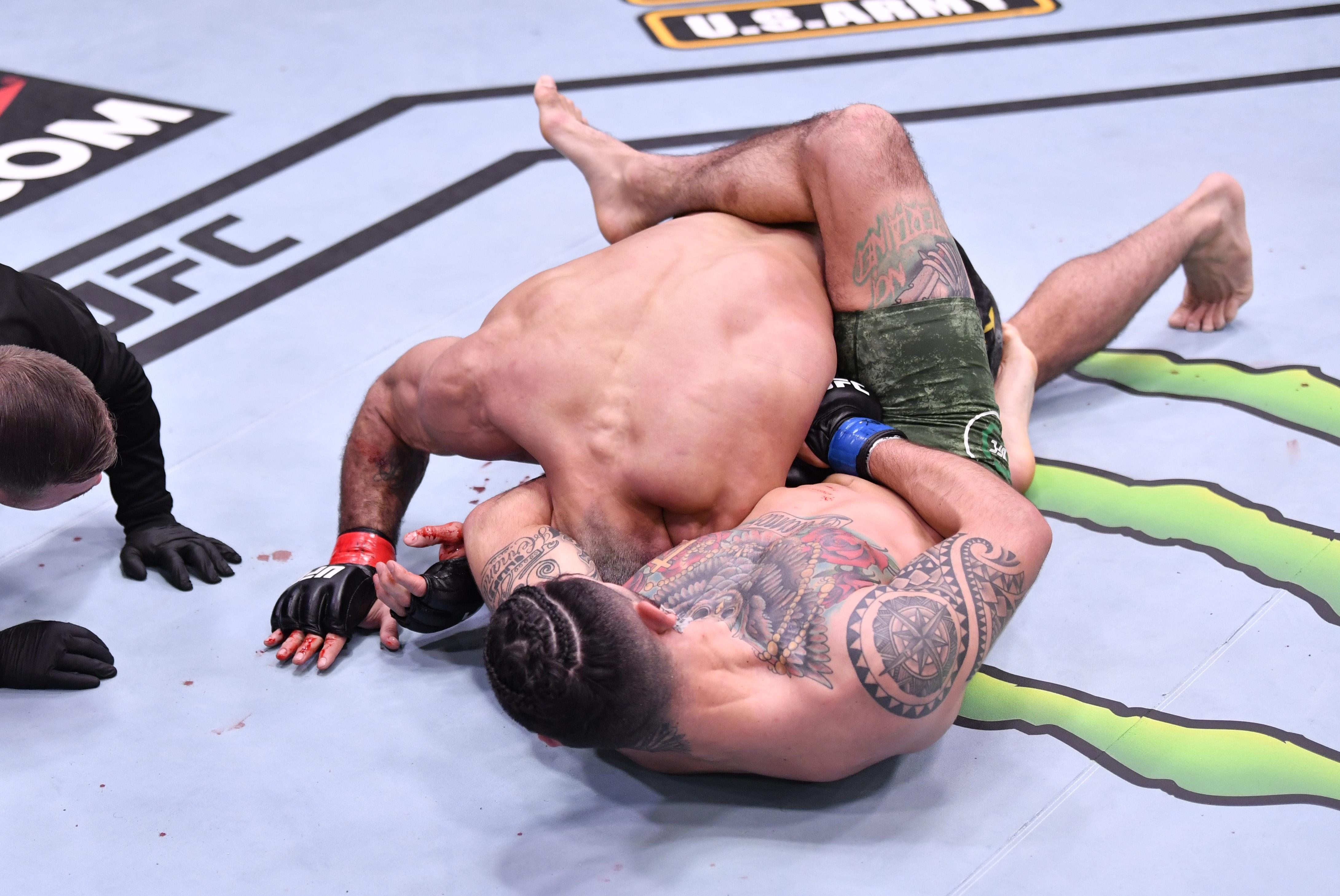 UFC 258: Vieira v Hernandez