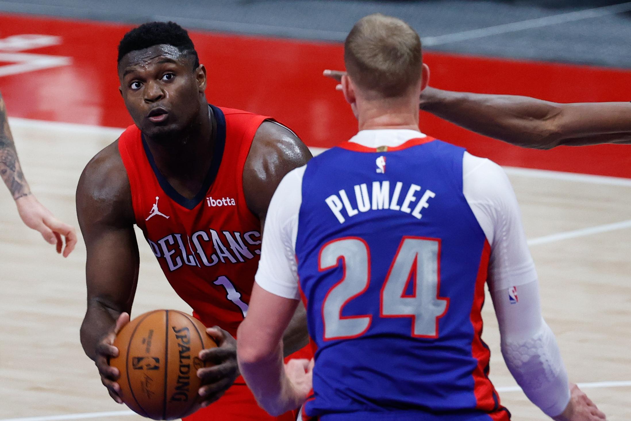 NBA: New Orleans Pelicans at Detroit Pistons