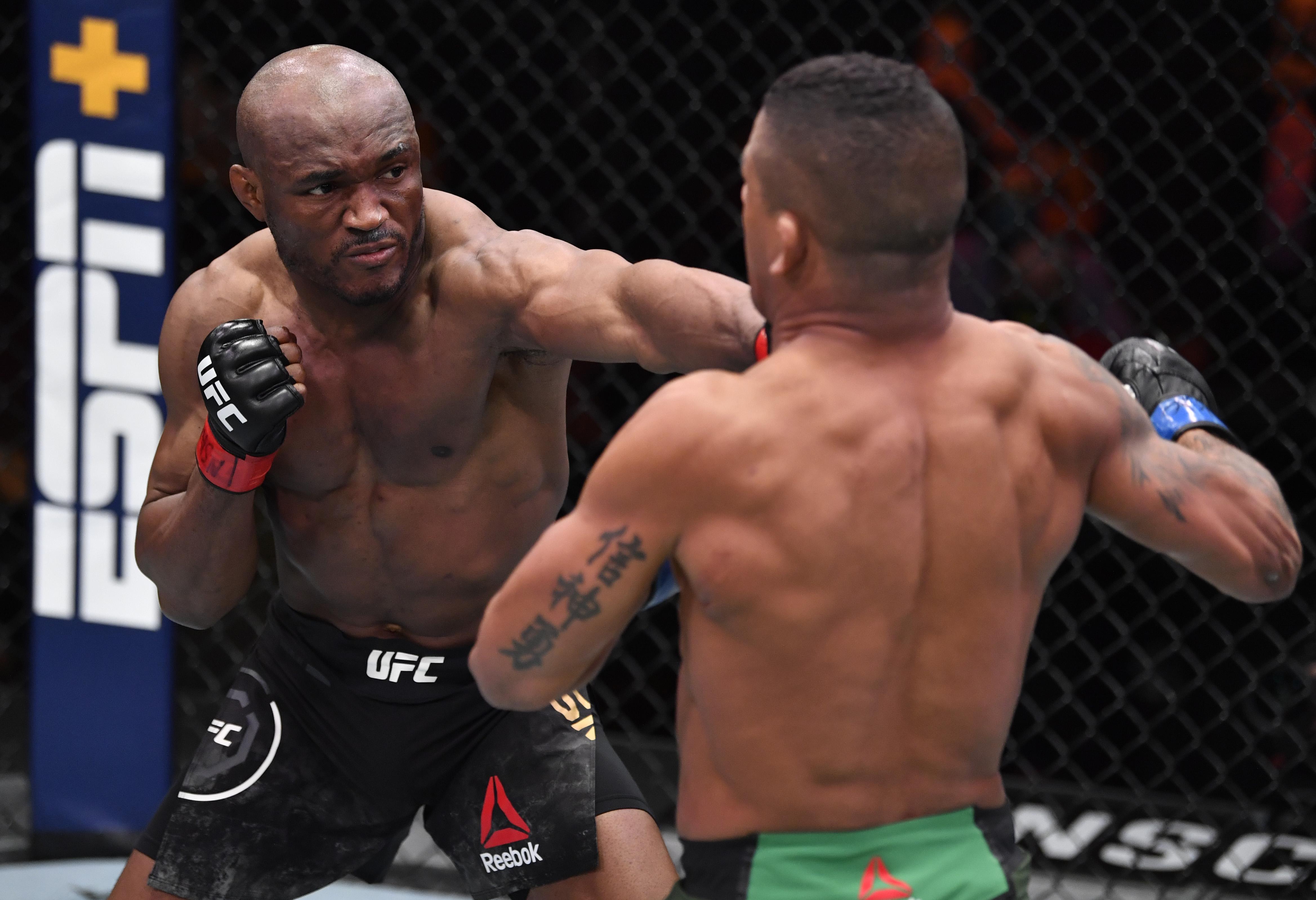 UFC 258:乌斯曼对伯恩斯