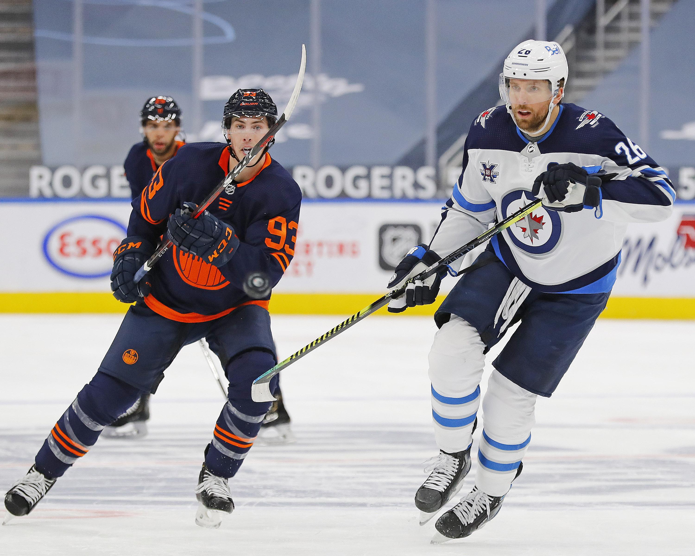 NHL: Winnipeg Jets at Edmonton Oilers