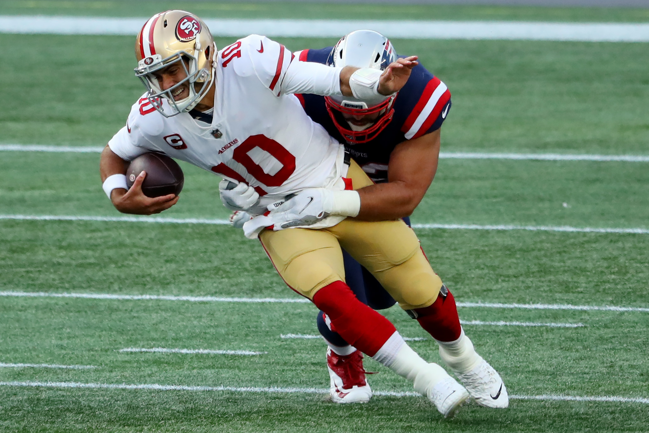 San Francisco 49ers v New England Patriots