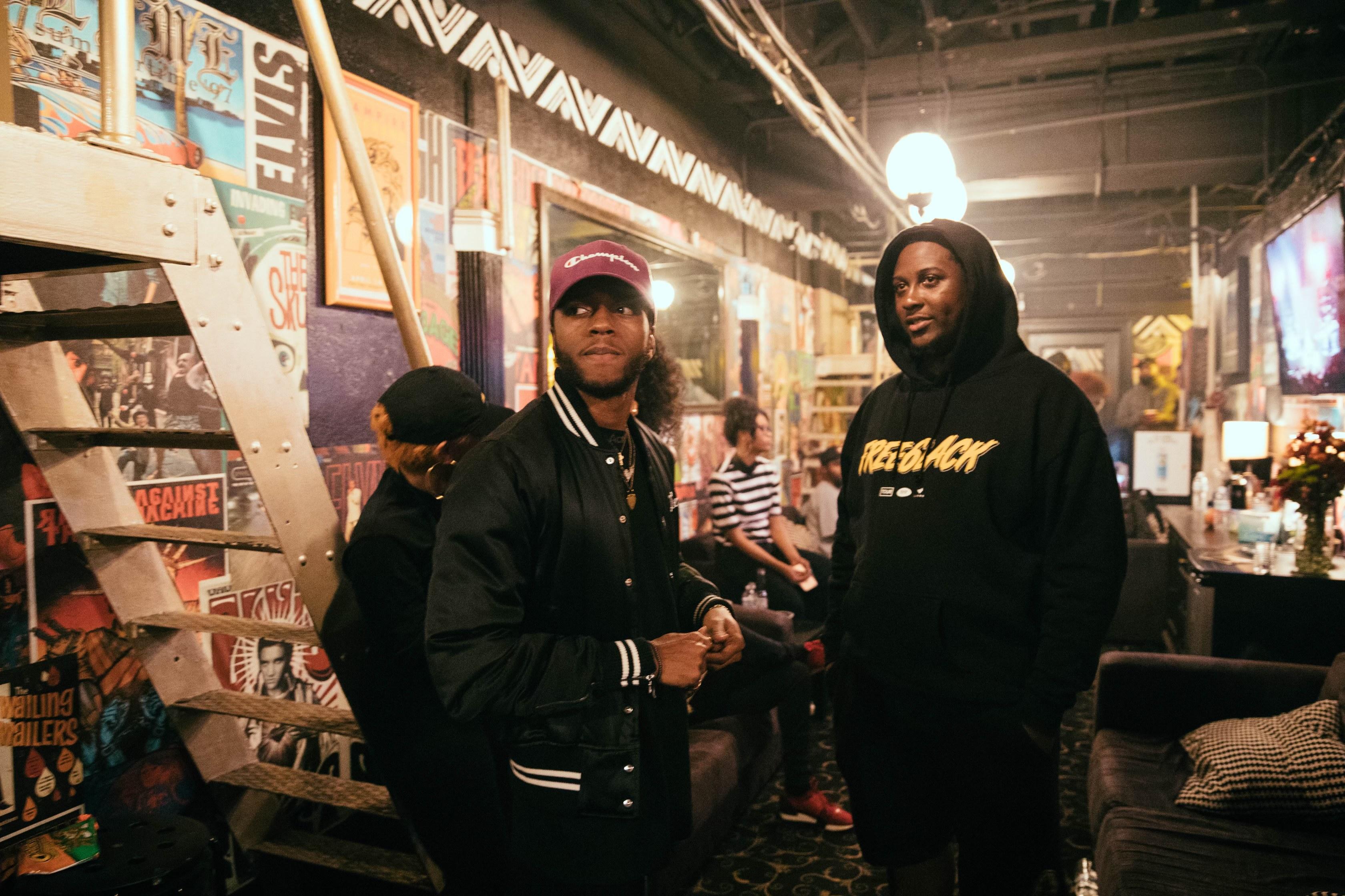 DJ Tonee and 6lack