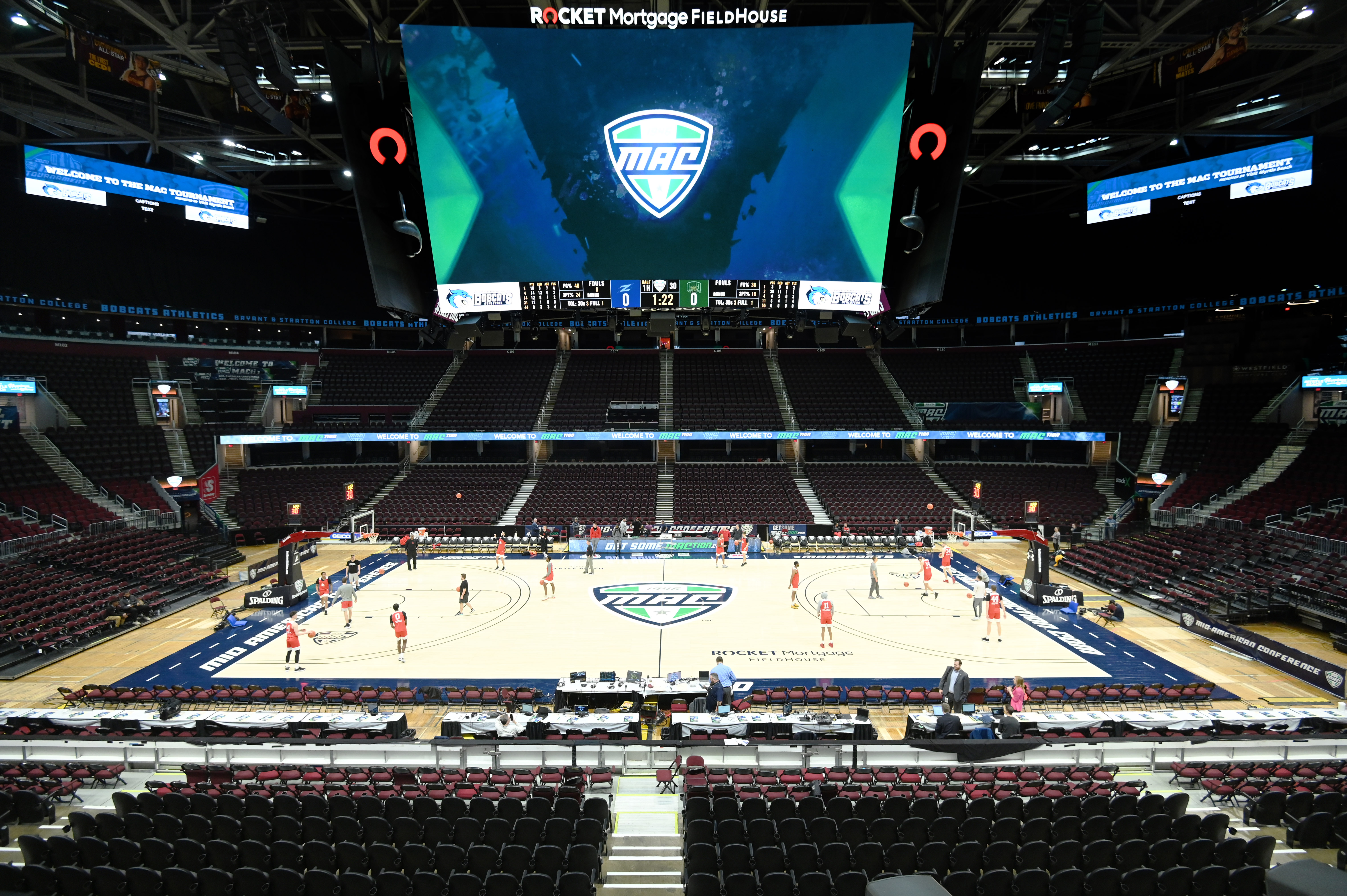 NCAA Basketball: MAC Conference Tournament-Ohio vs Akron