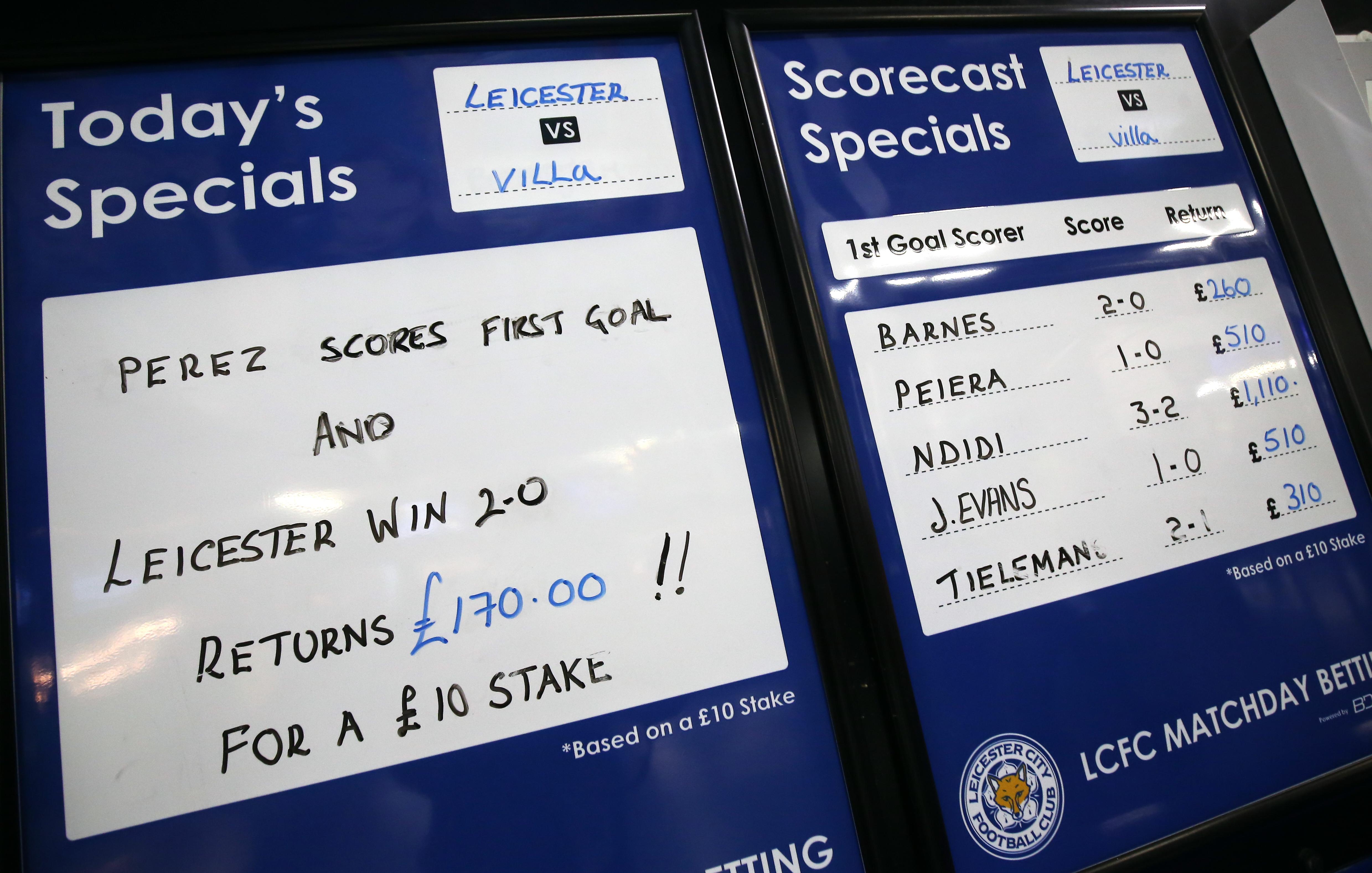 Leicester City v Aston Villa - Premier League - King Power Stadium