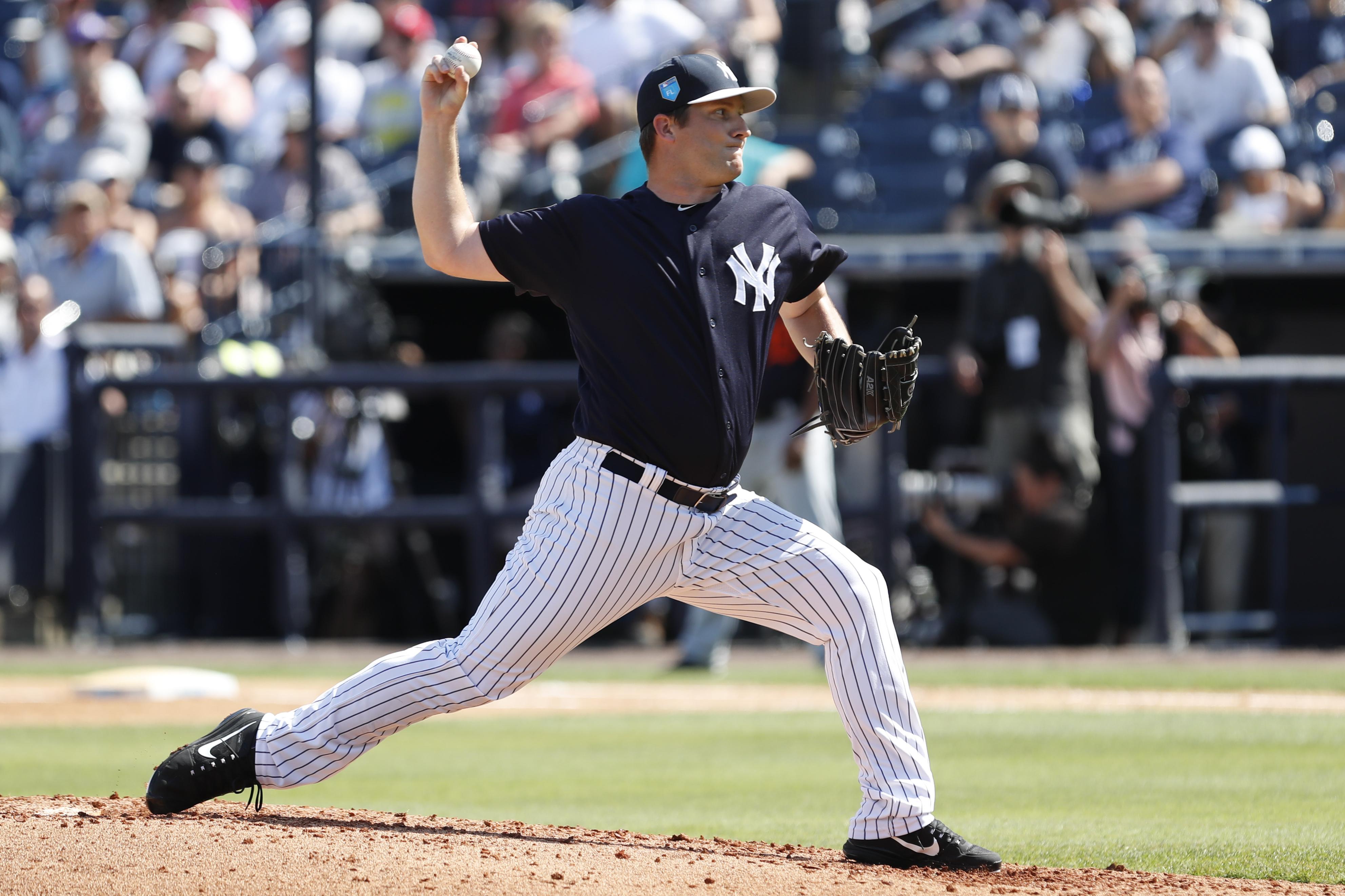 MLB: FEB 28 Spring Training - Tigers at Yankees