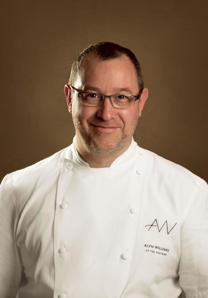Alyn Williams of the Michelin-starred Alyn Williams at the Westbury in Mayfair, has been dismissed