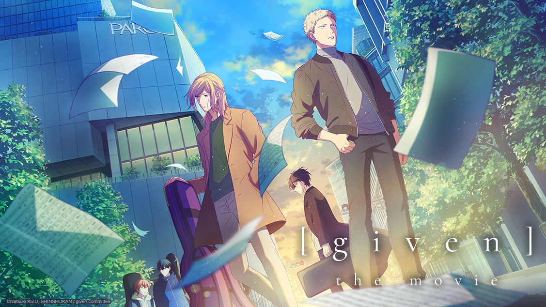 Characters promo art for Given the Movie.