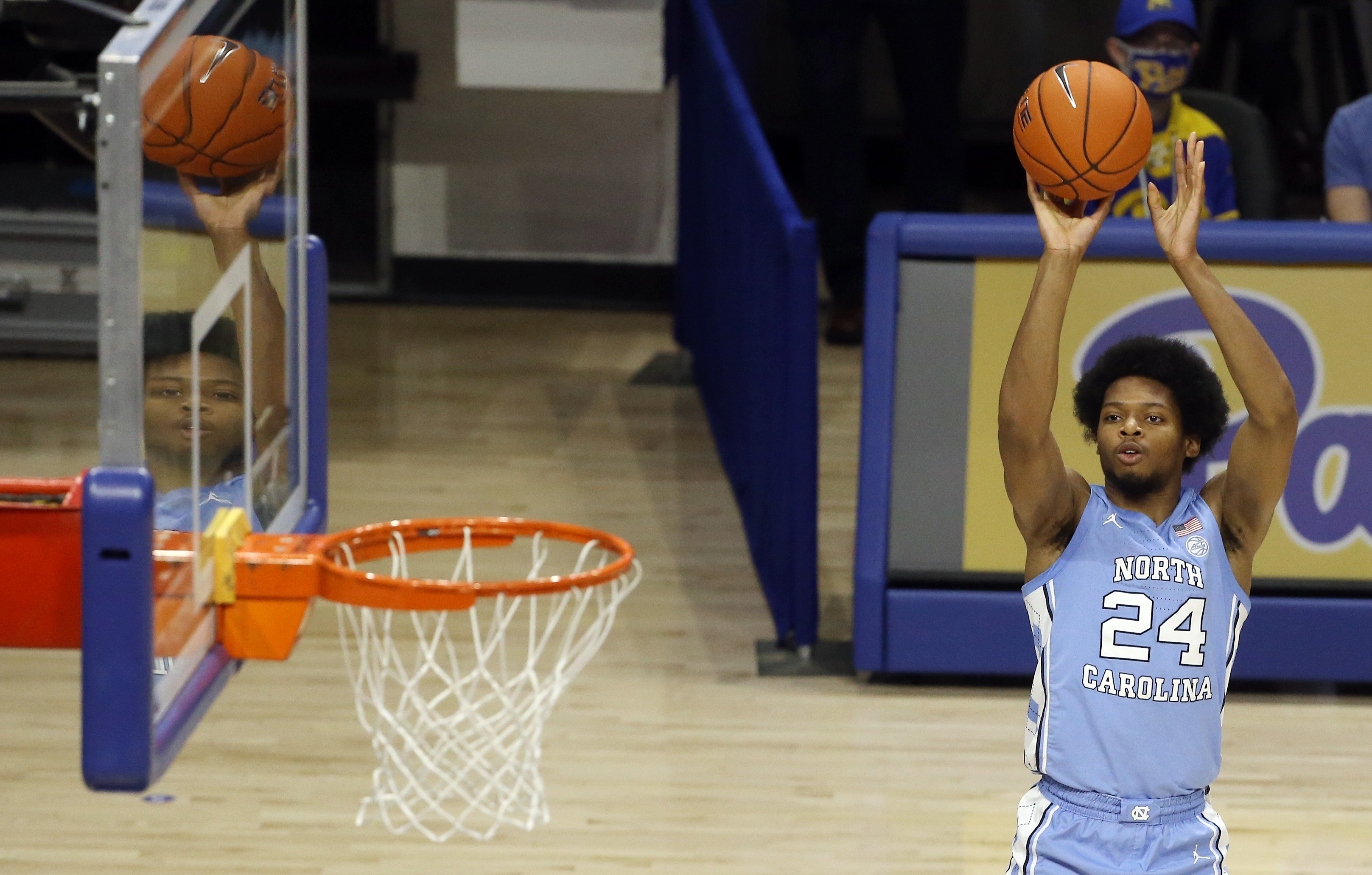 NCAA Basketball: North Carolina at Pittsburgh