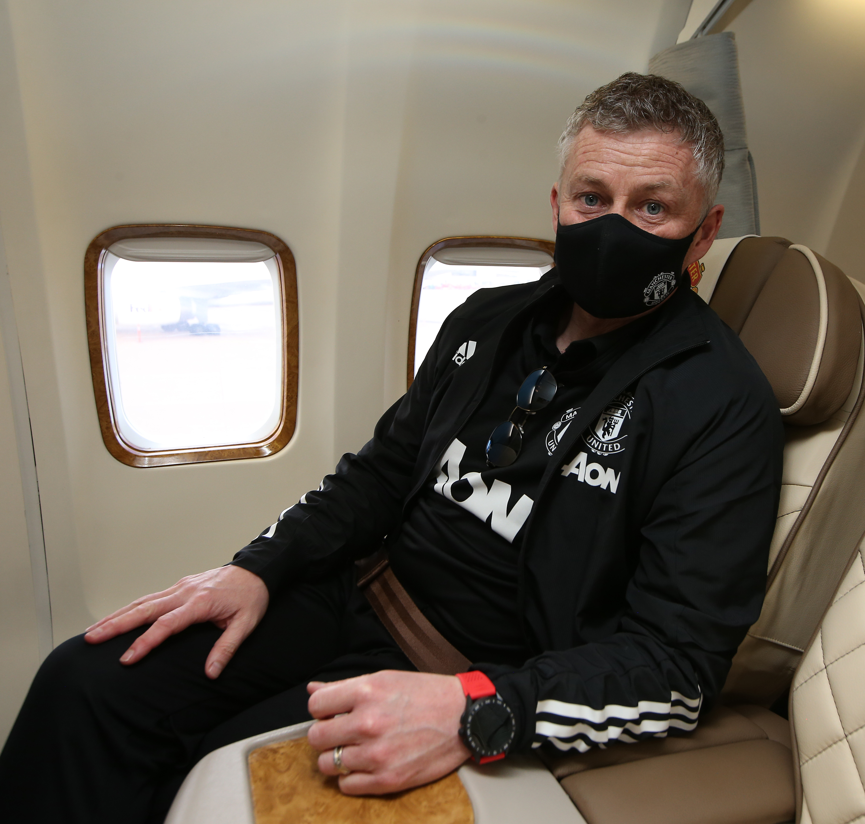 Manchester United Depart for Turin for the Europa League